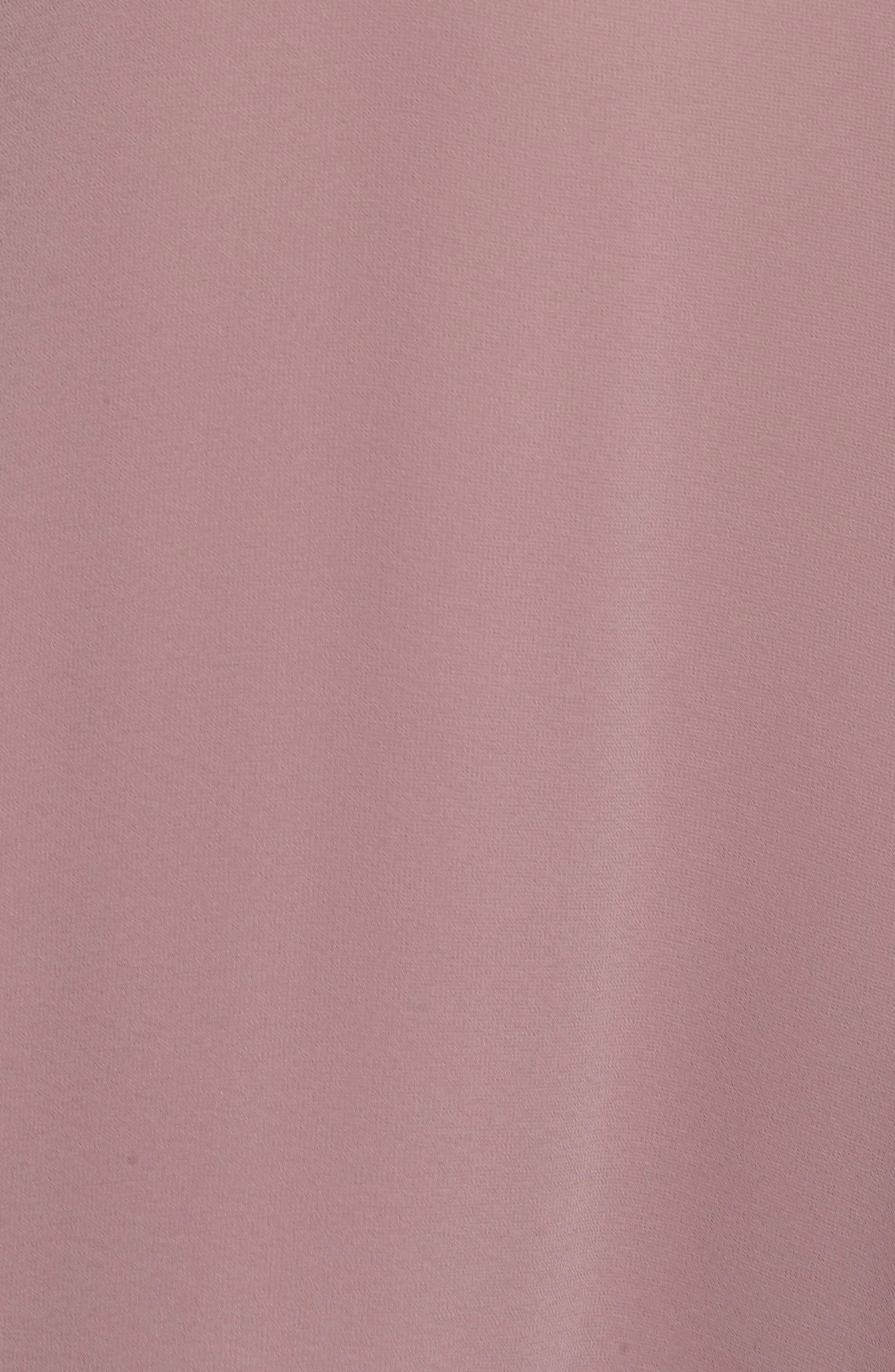 Alternate Image 5  - nouvelle AMSALE Halter Neck Chiffon Blouson Gown