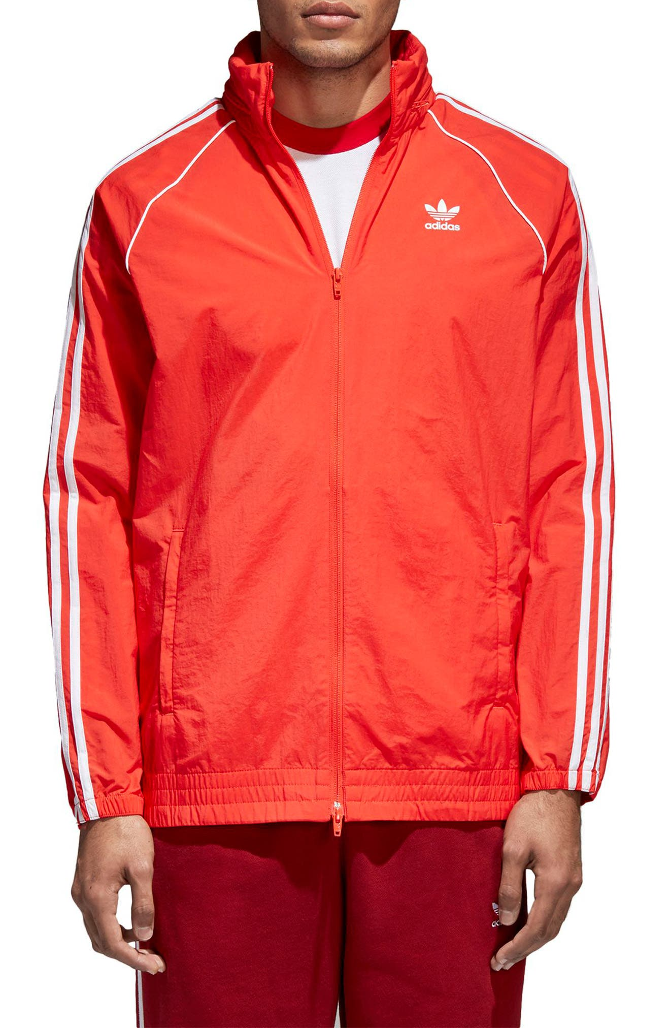 Alternate Image 1 Selected - adidas Originals SST Windbreaker