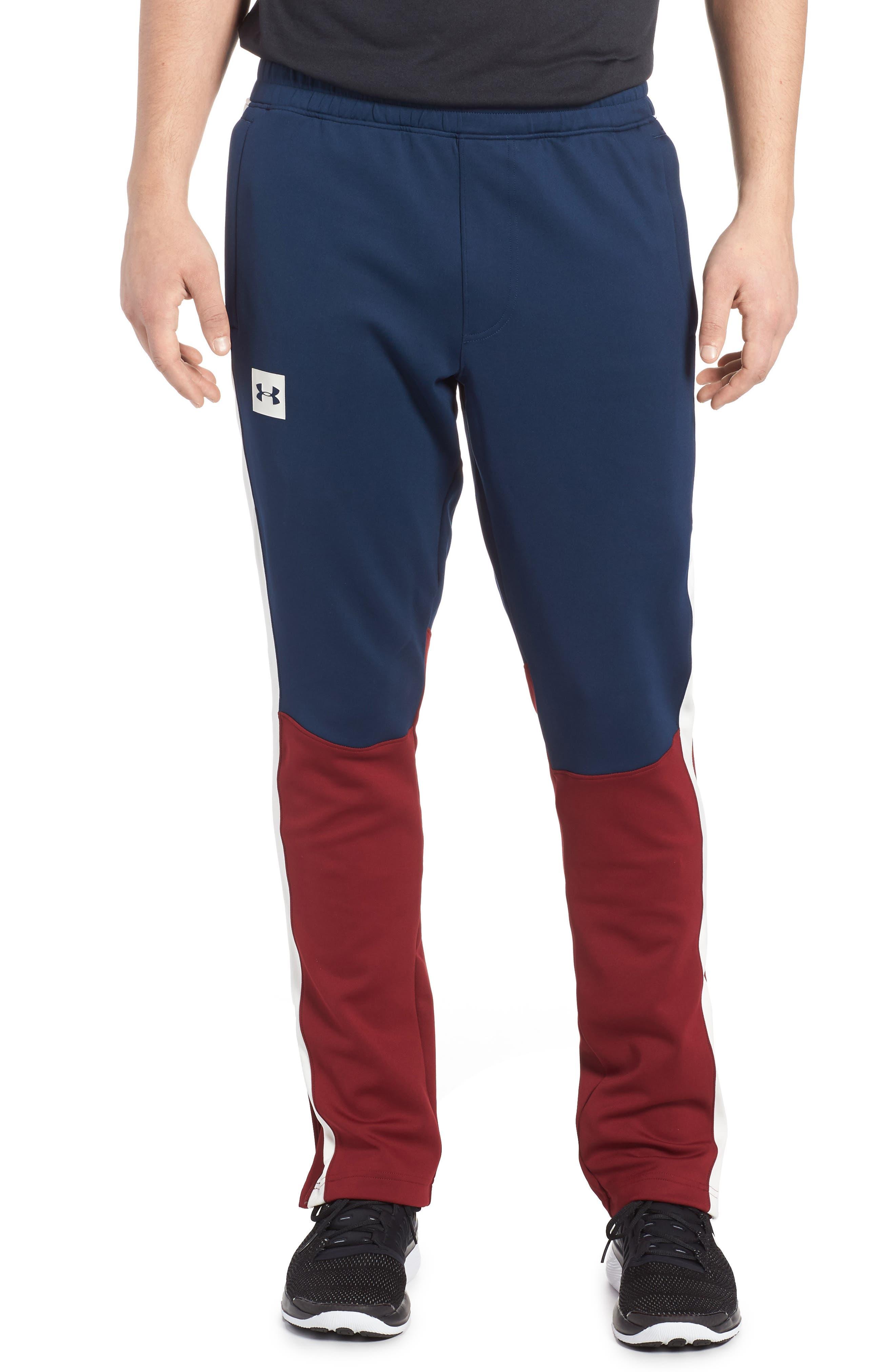 Sportstyle Track Pants,                         Main,                         color, Academy / Cardinal / Ivory