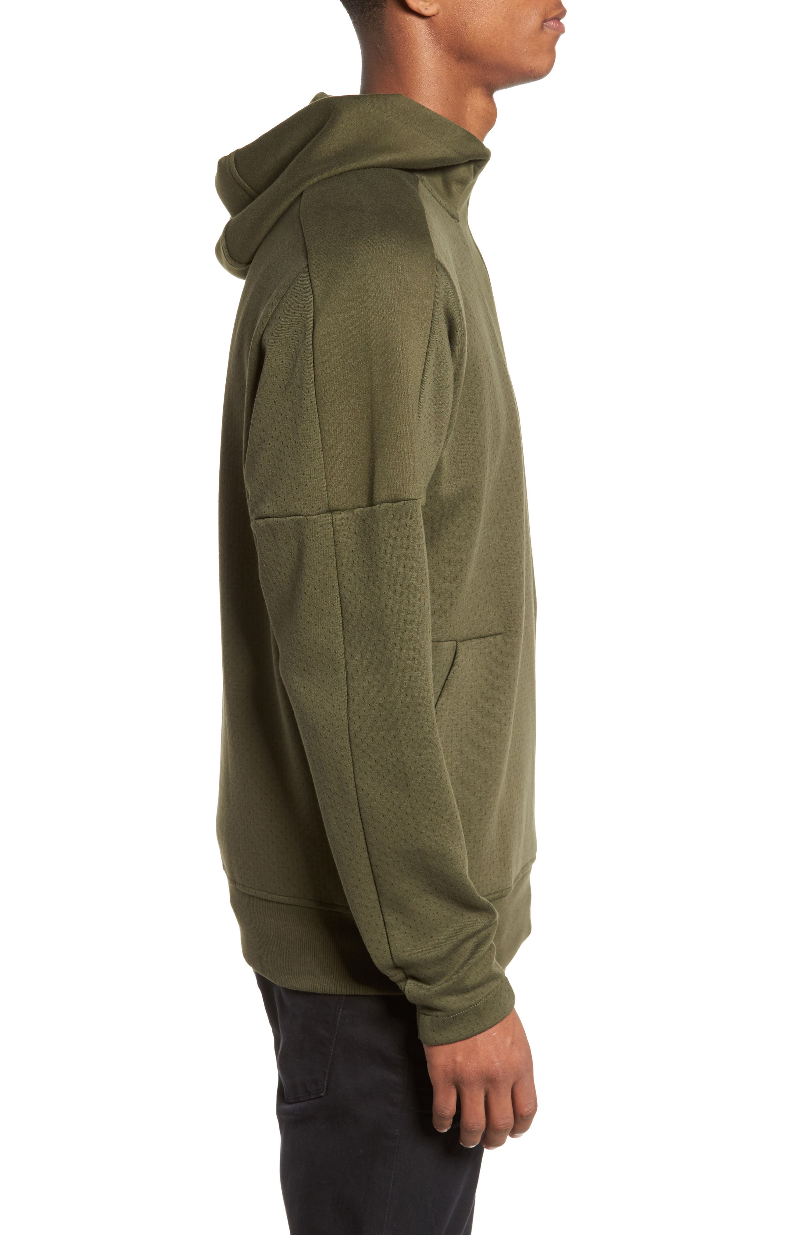 Squad ID Anorak Hoodie,                             Alternate thumbnail 3, color,                             Night Cargo F15