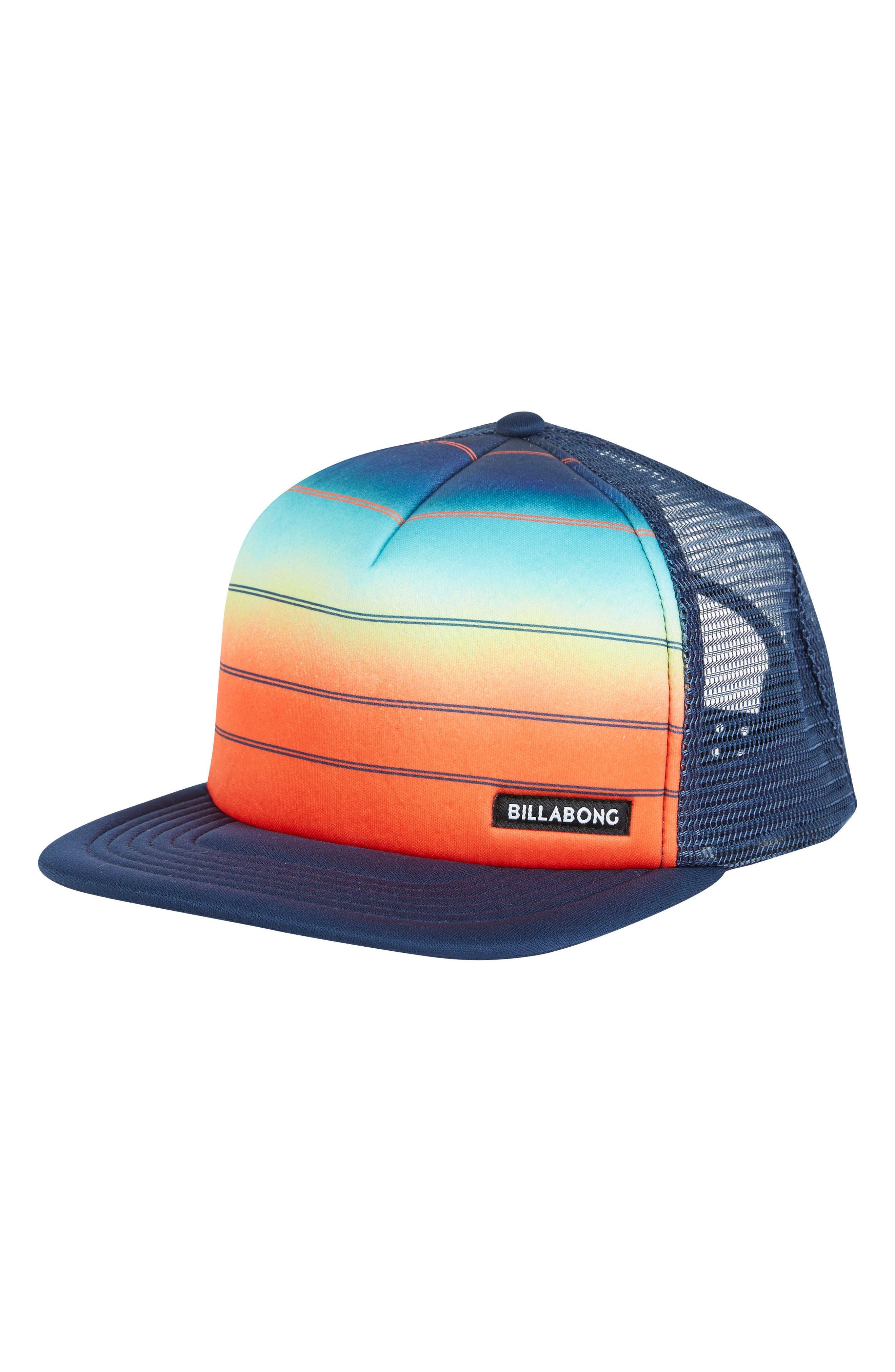 73 Snapback Trucker Hat,                         Main,                         color, Orange