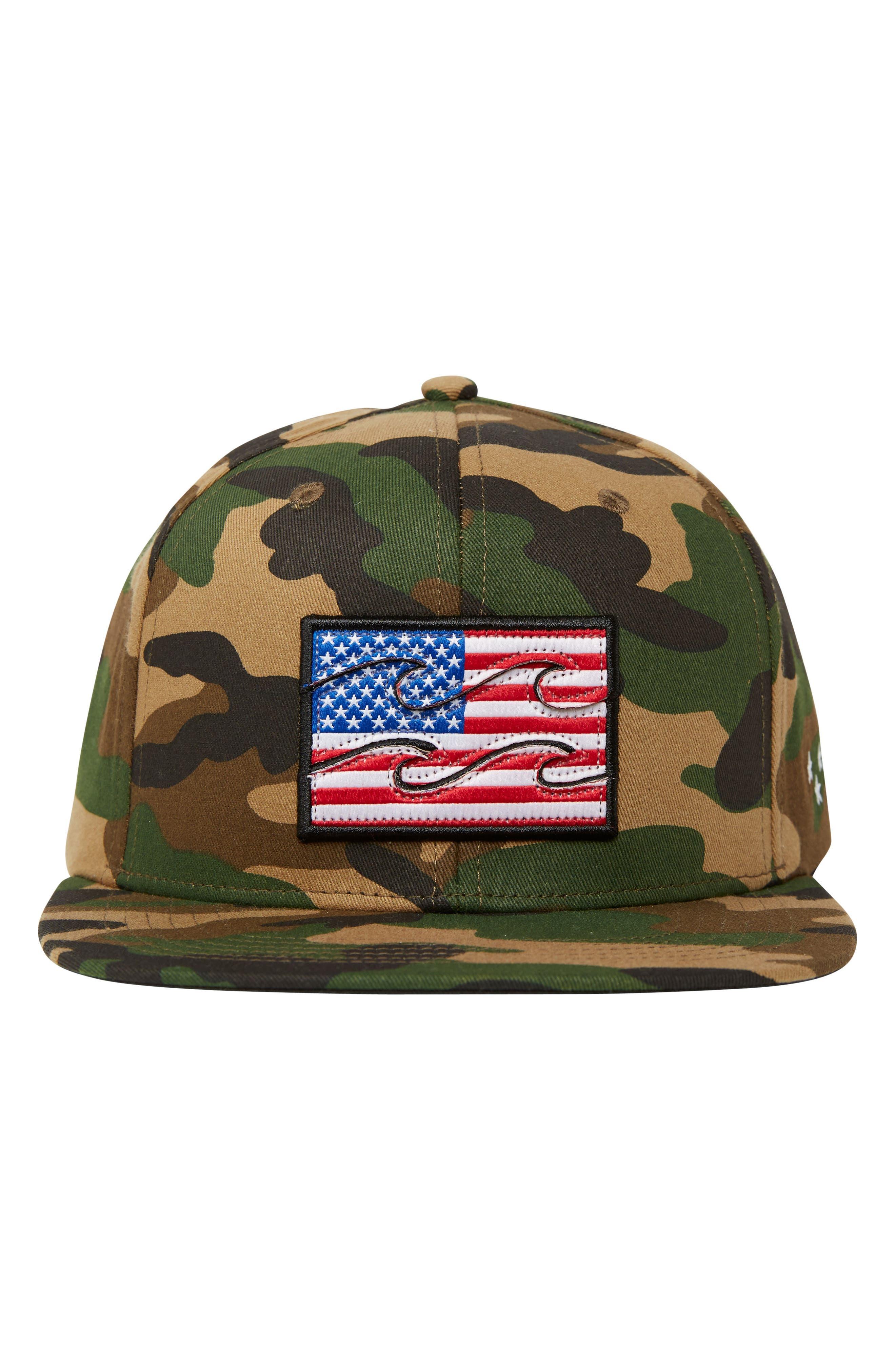 Alternate Image 3  - Billabong Texas Native Snapback Cap