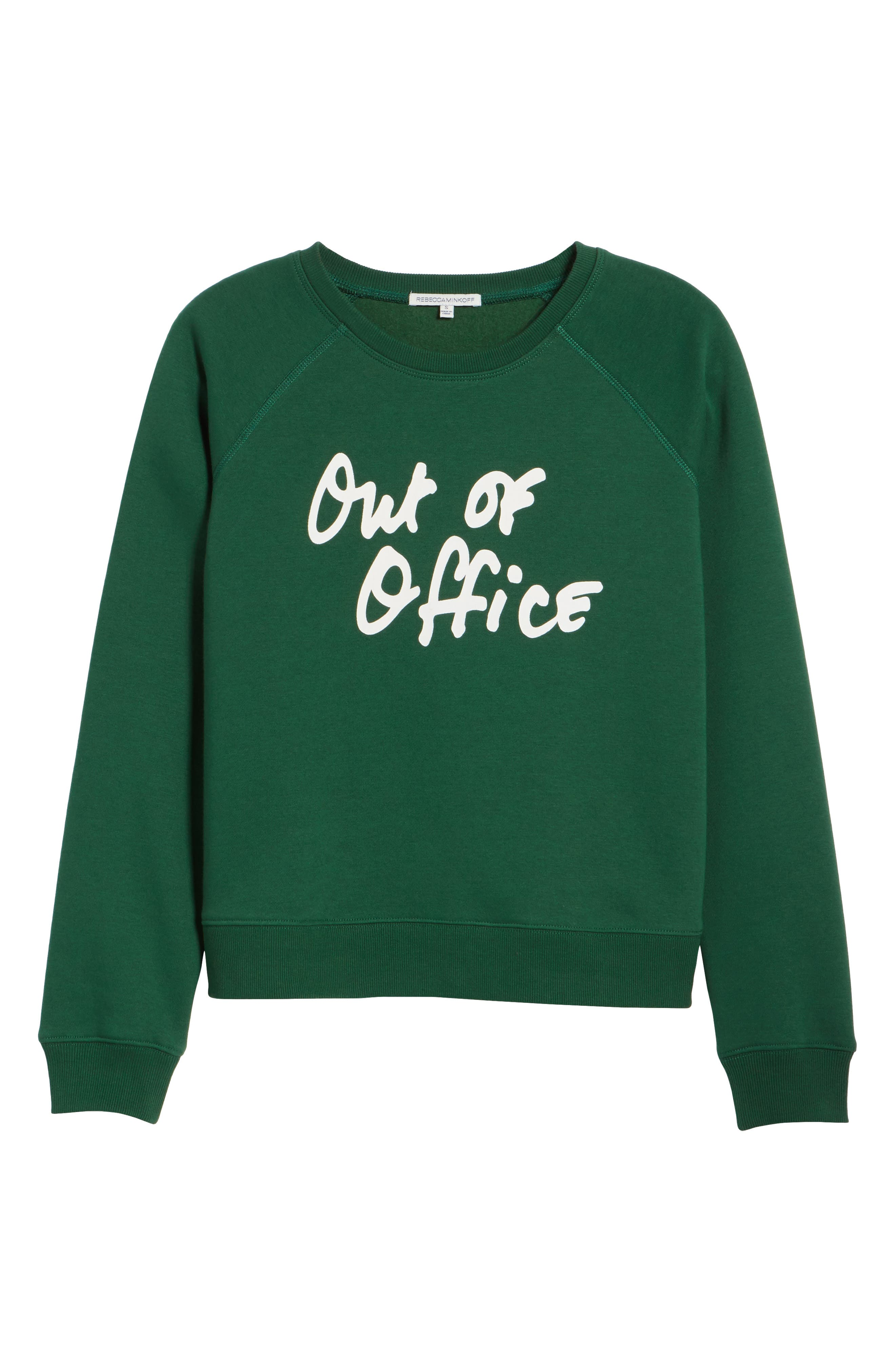 Out of Office Sweatshirt,                             Alternate thumbnail 6, color,                             Eden Multi