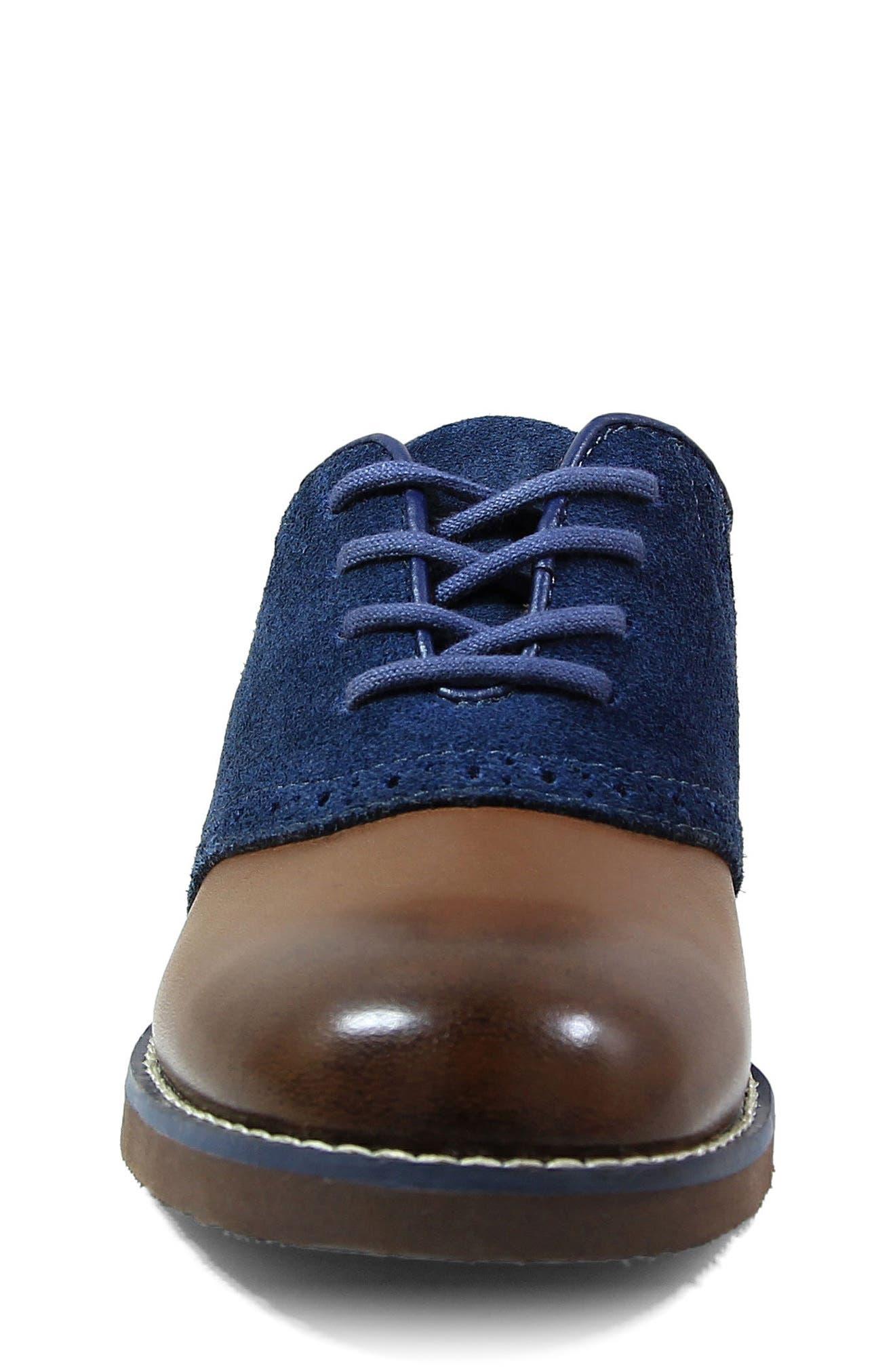 Alternate Image 4  - Florsheim 'Kennett Jr. II' Saddle Shoe (Toddler, Little Kid & Big Kid)