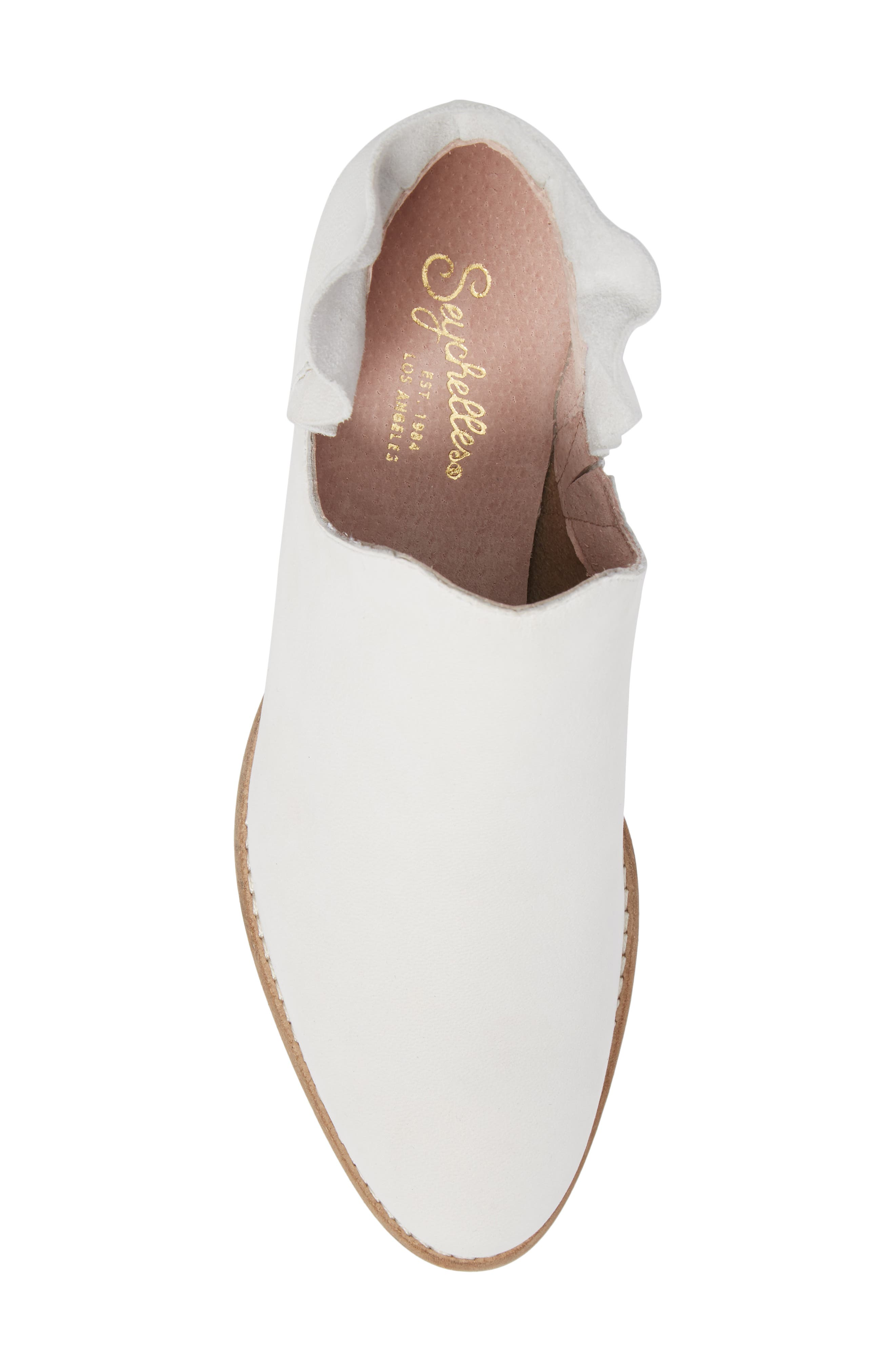 Renowned Bootie,                             Alternate thumbnail 5, color,                             White Nubuck