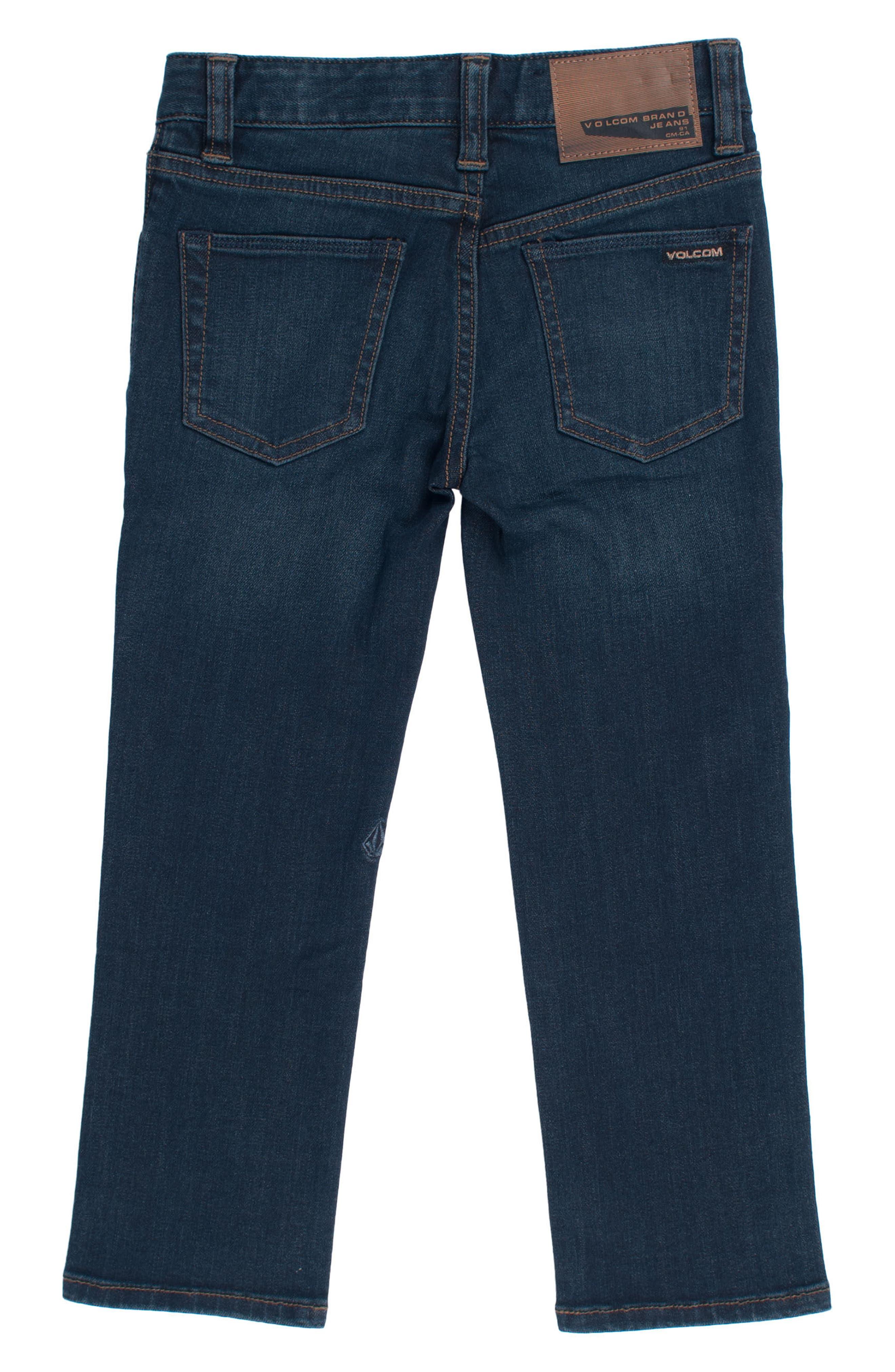 Vorta Slim Fit Jeans,                             Alternate thumbnail 2, color,                             Blue Rinser