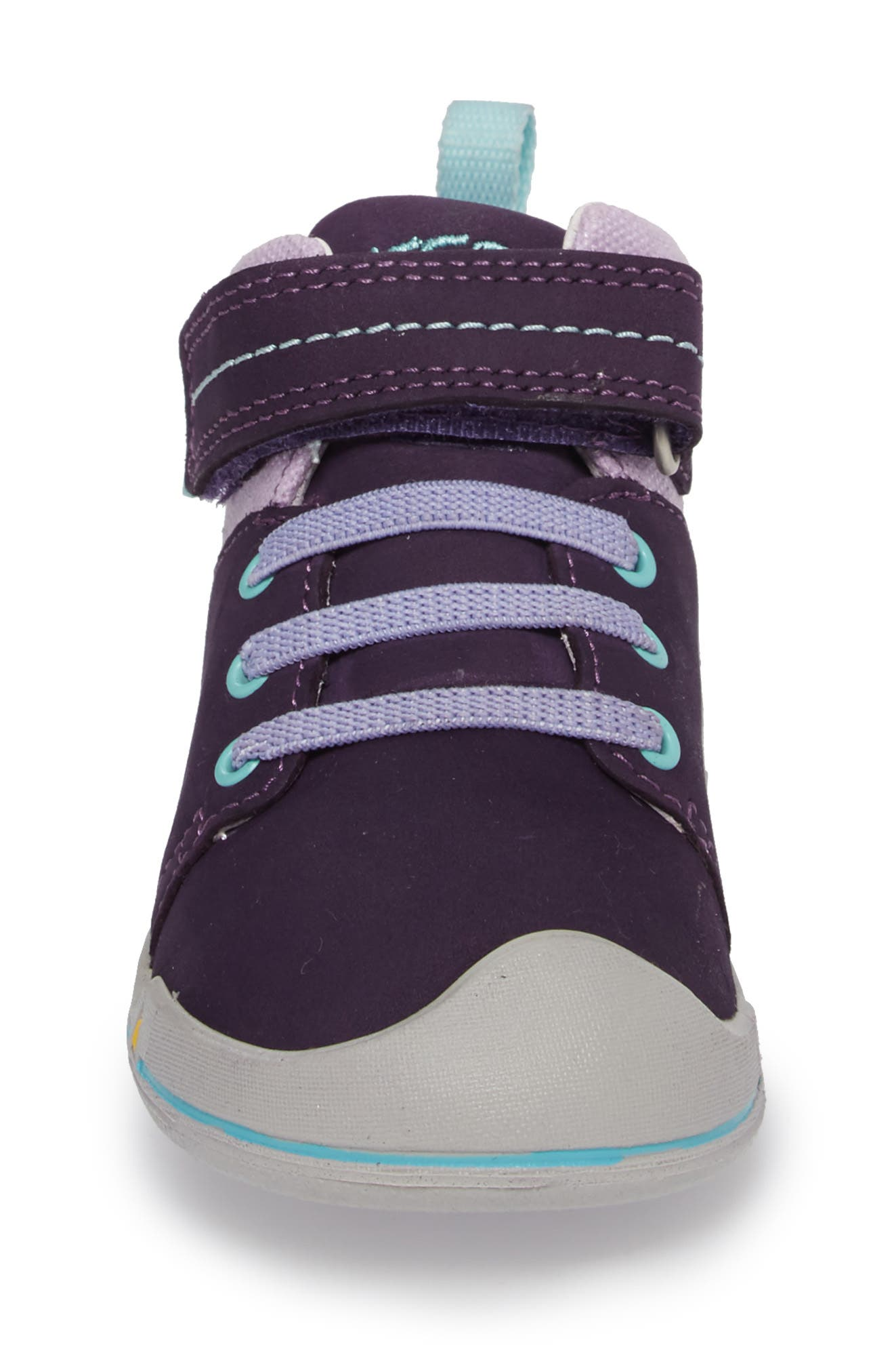 Sprout Mid Sneaker,                             Alternate thumbnail 4, color,                             Purple / Sweet Lavender