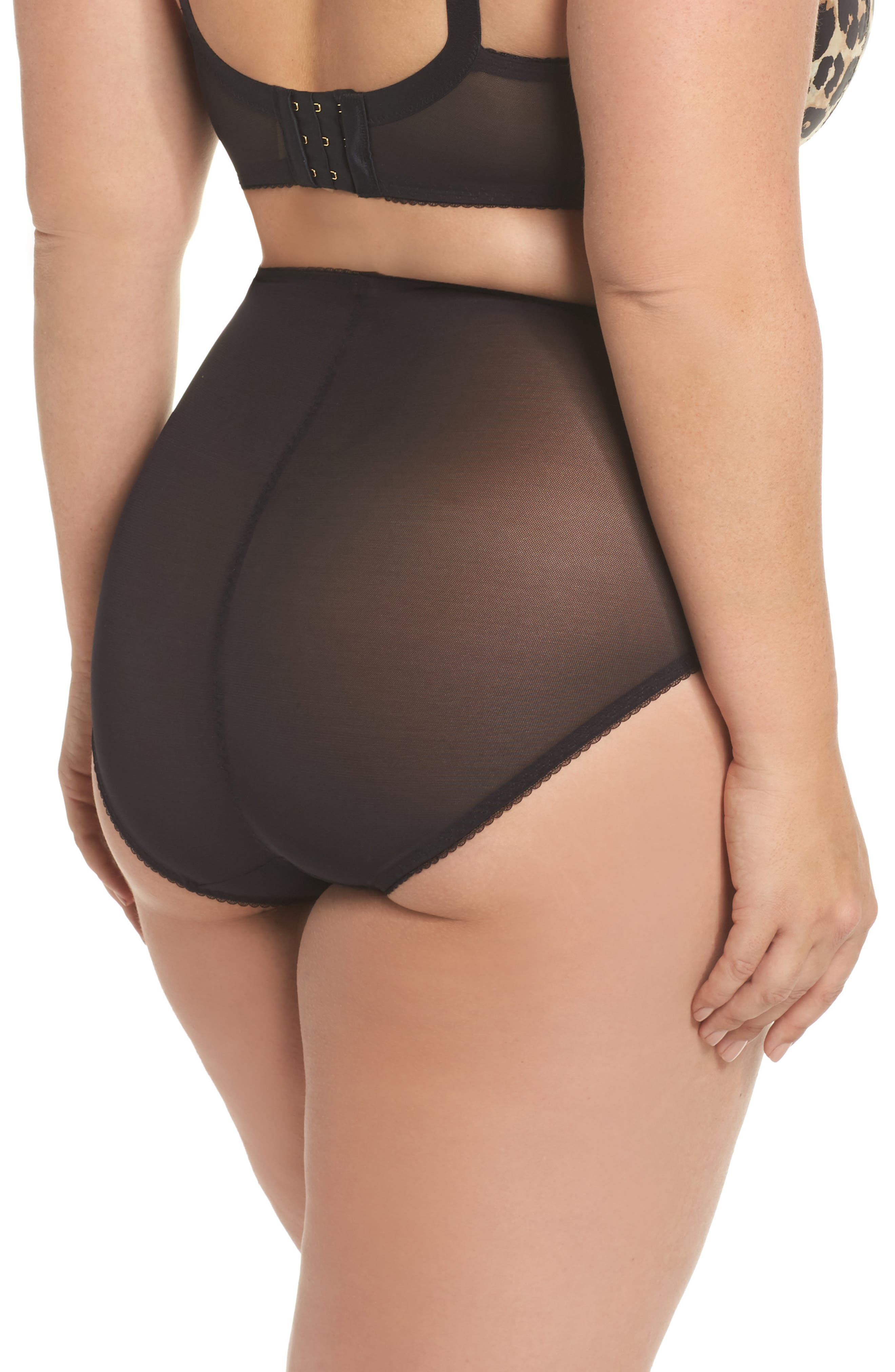 Sheer Witchery - Sophisticat Shaping Briefs,                             Alternate thumbnail 2, color,                             Animal Print