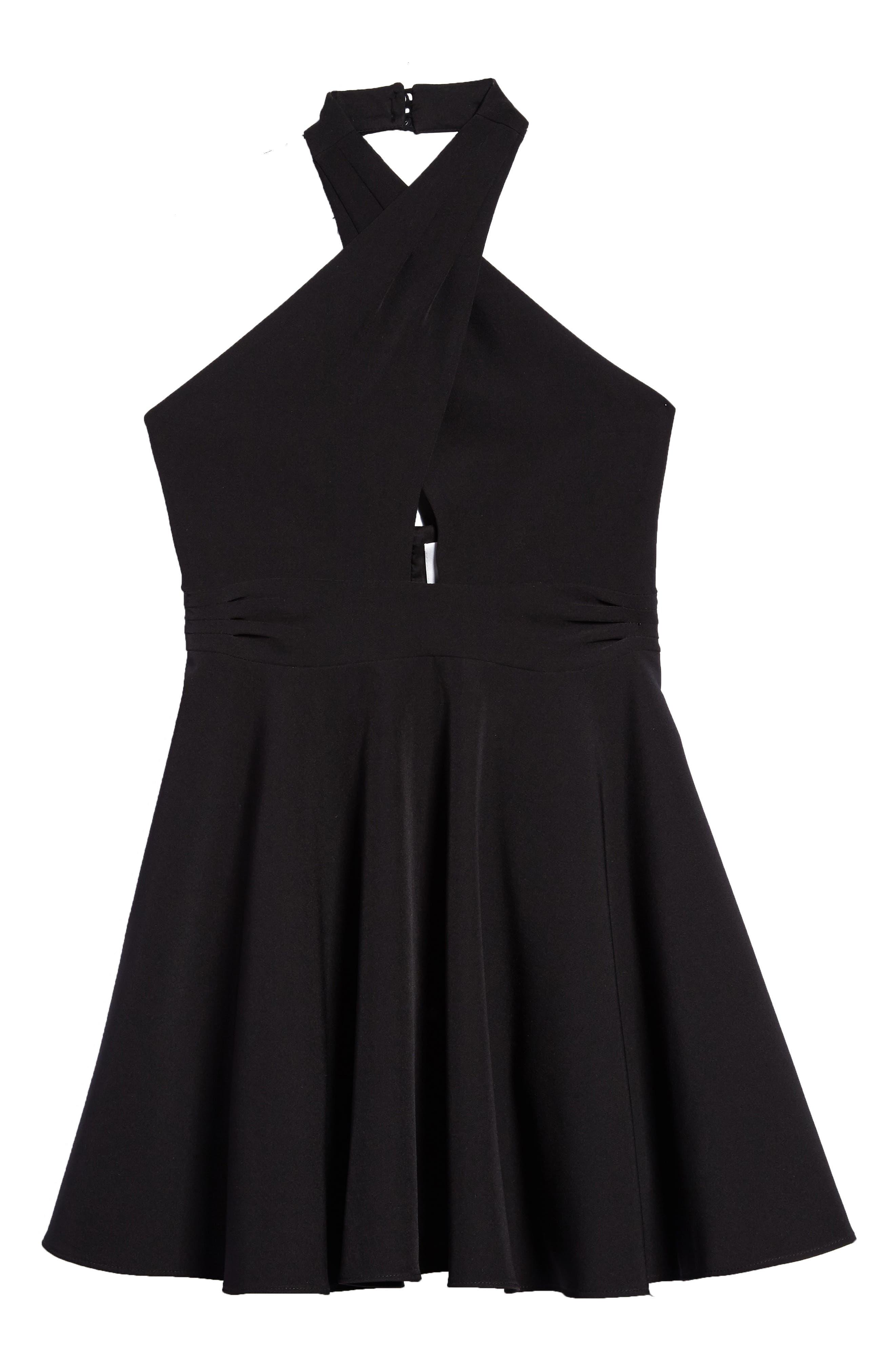 Milly Minis Sydney Halter Dress (Big Girls)