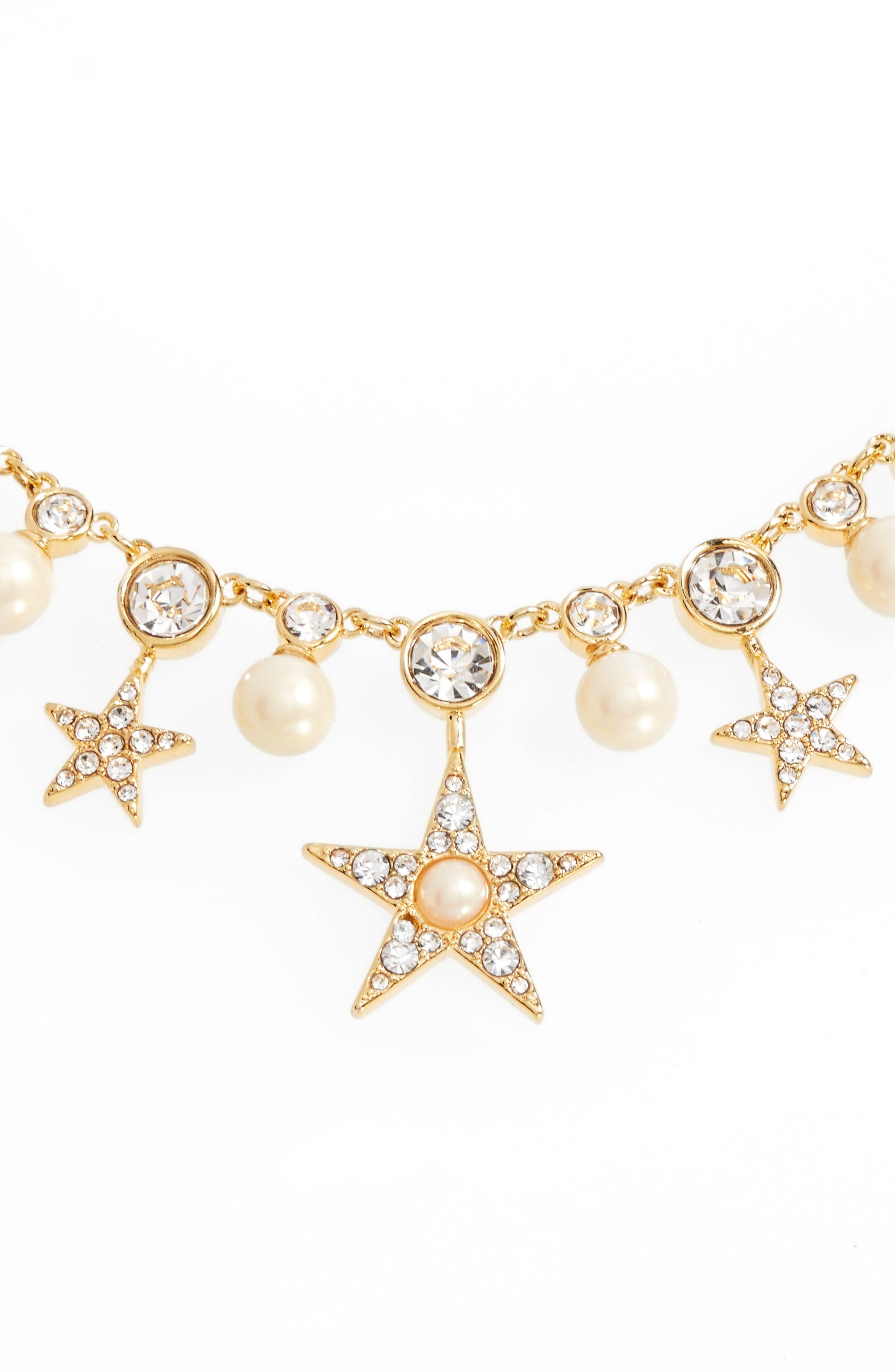 Alternate Image 2  - kate spade new york seeing stars collar necklace