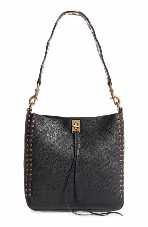 61981efbca6 Rebecca Minkoff Small Darren Deerskin Leather Feed Bag