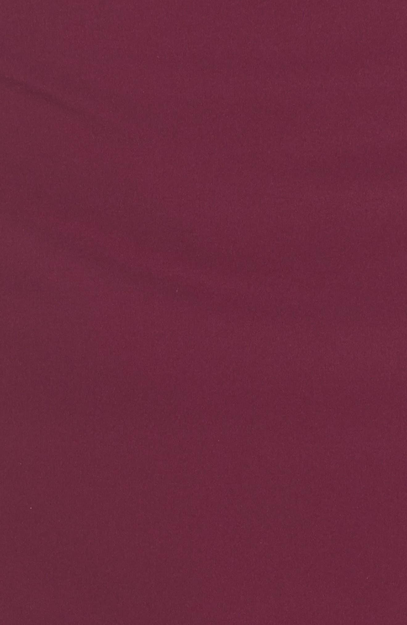 Flex Tennis Skirt,                             Alternate thumbnail 6, color,                             Burgundy