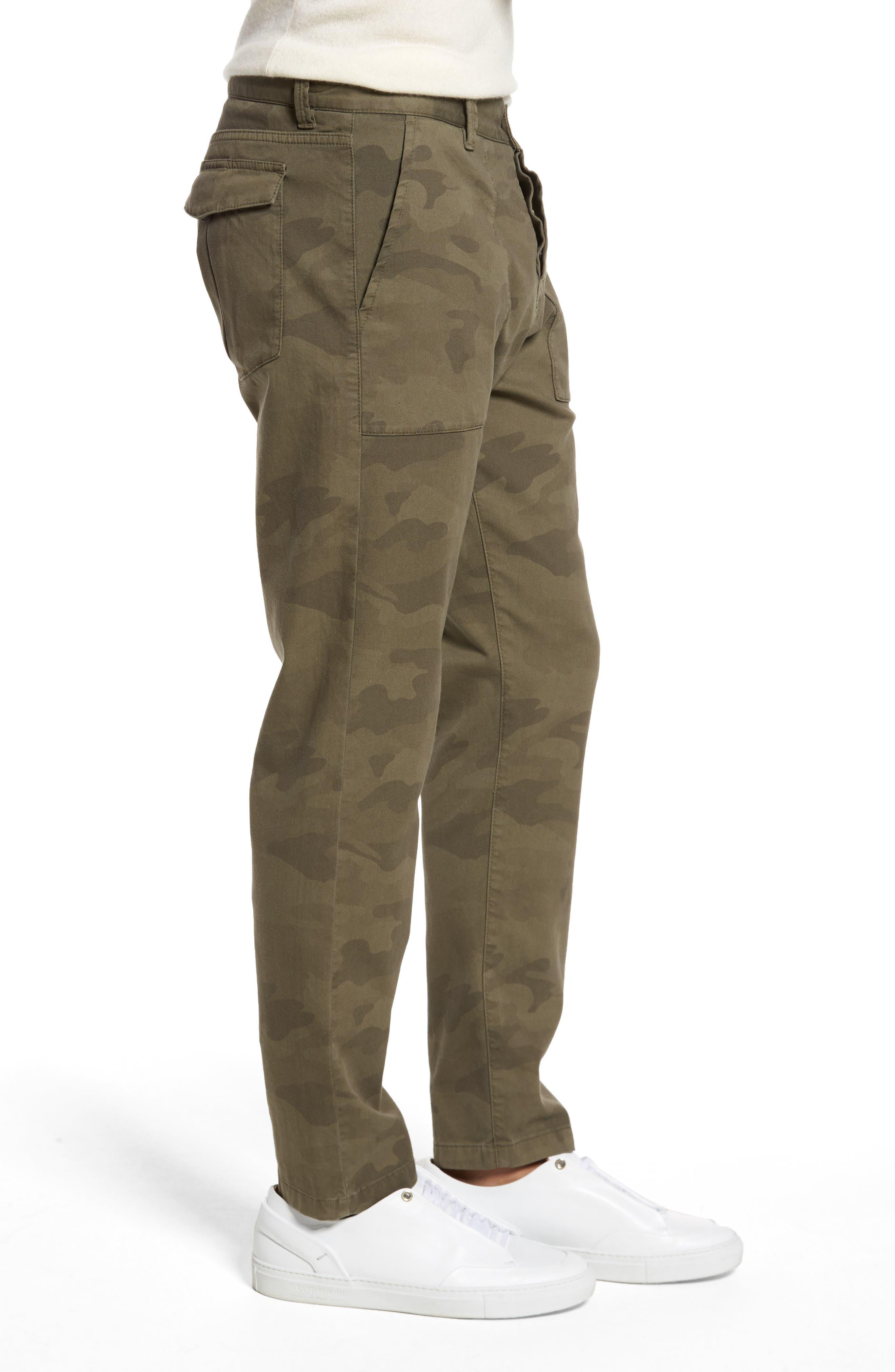 Alternate Image 3  - Eleventy Camo Fatigue Pocket Pants