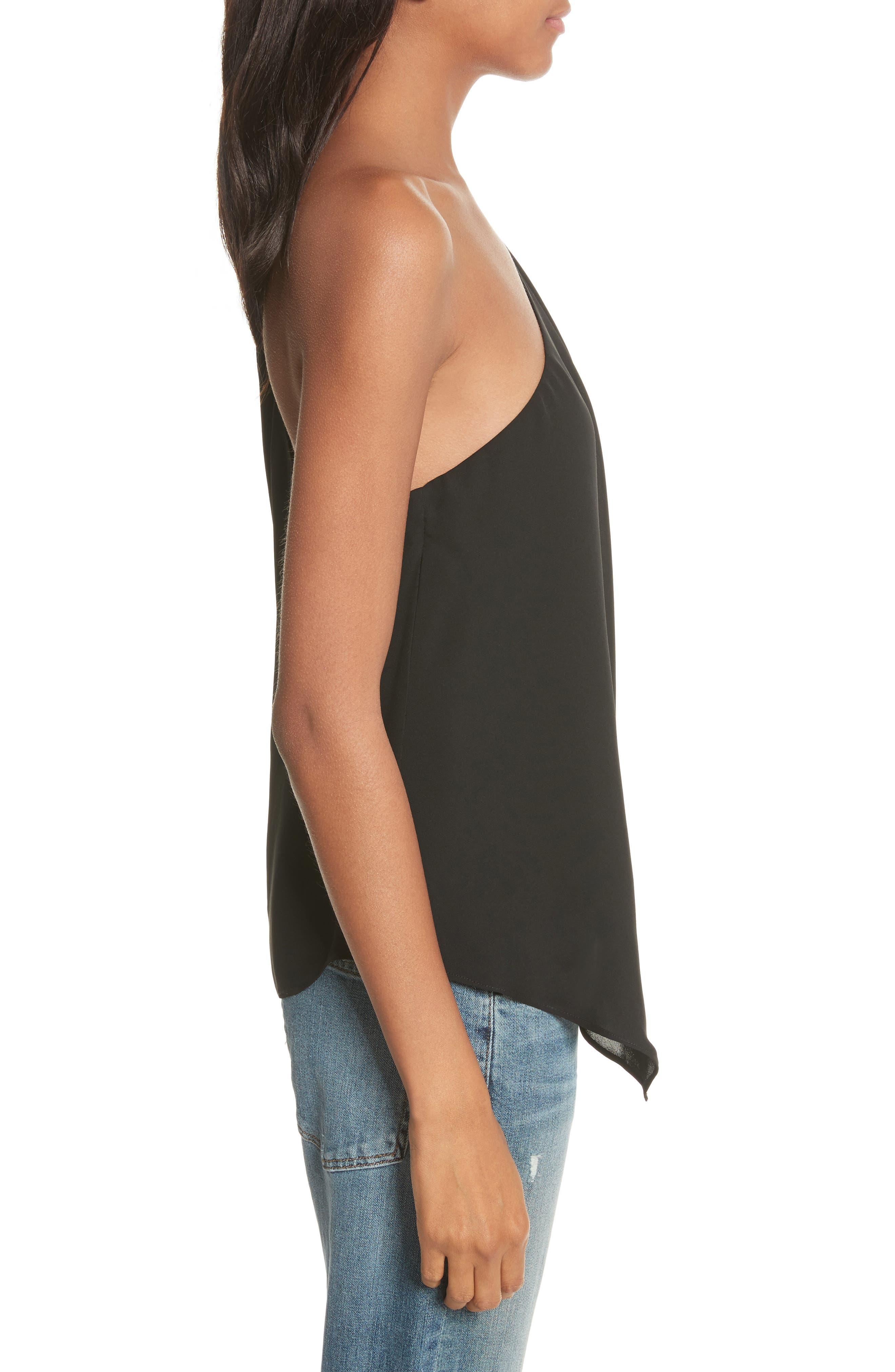 Alternate Image 3  - Joie Alaqua One-Shoulder Silk Top