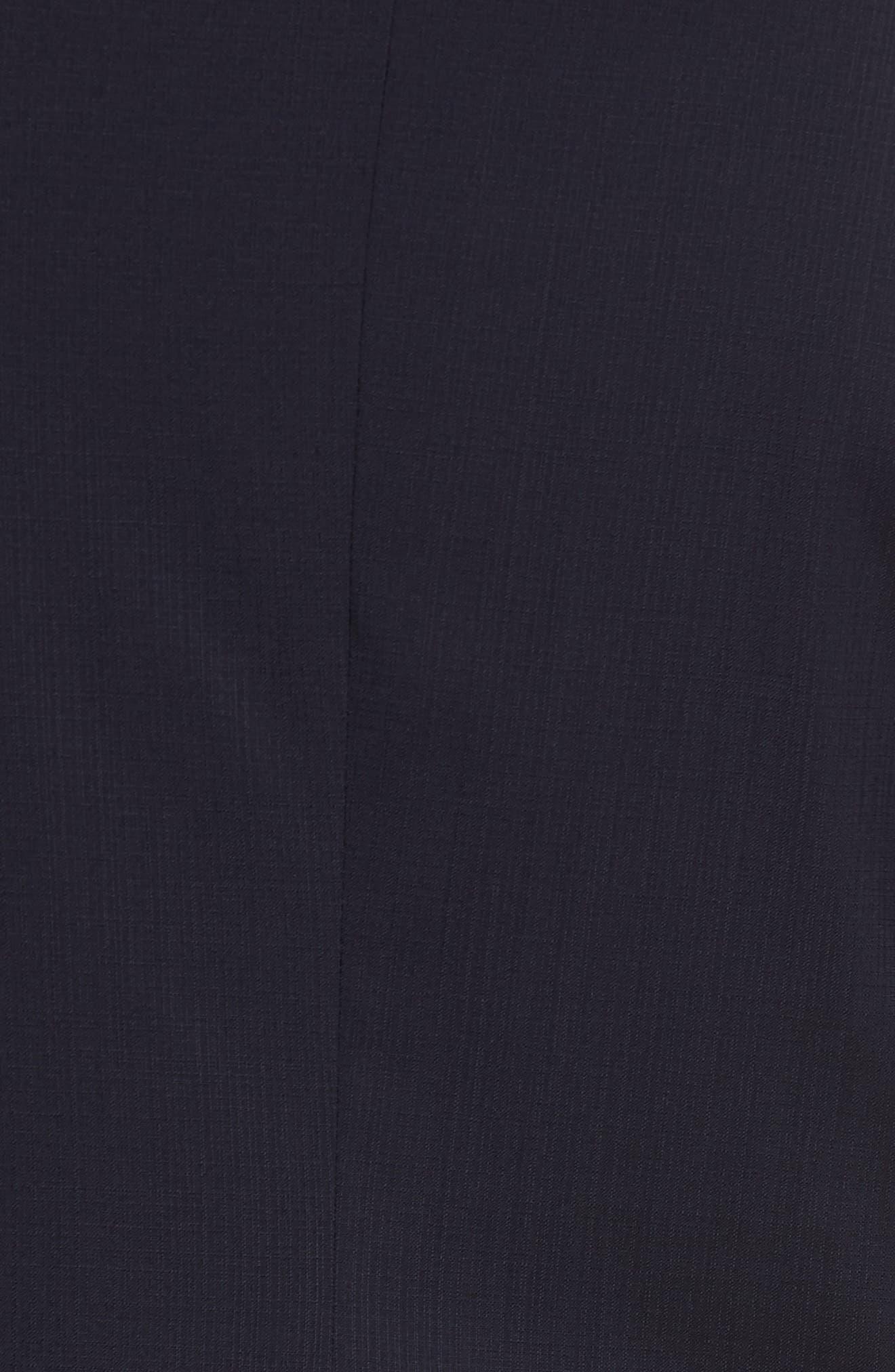Classic Fit Check Suit,                             Alternate thumbnail 7, color,                             Navy