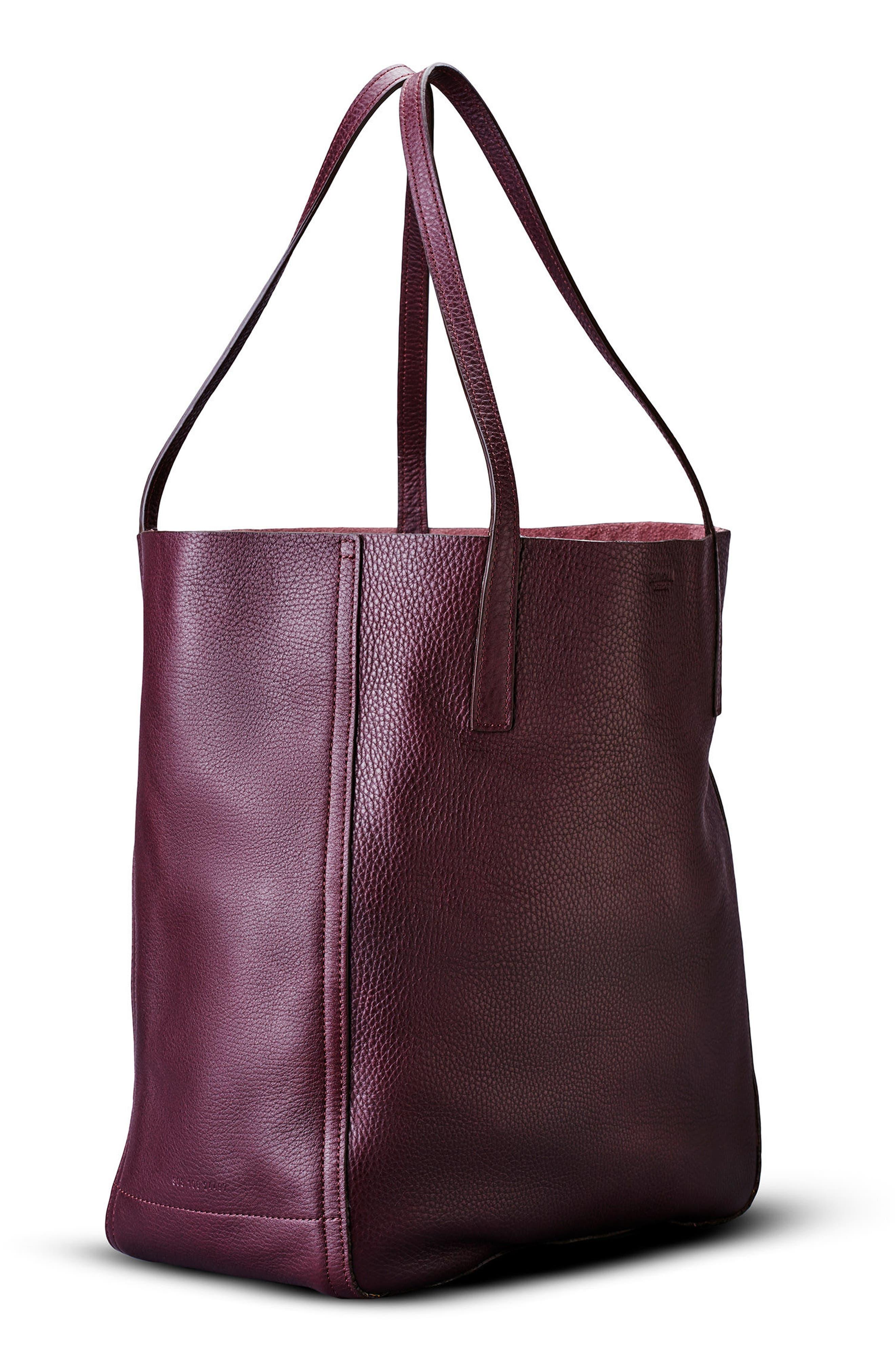 Alternate Image 4  - Shinola Medium Leather Shopper (Nordstrom Exclusive)