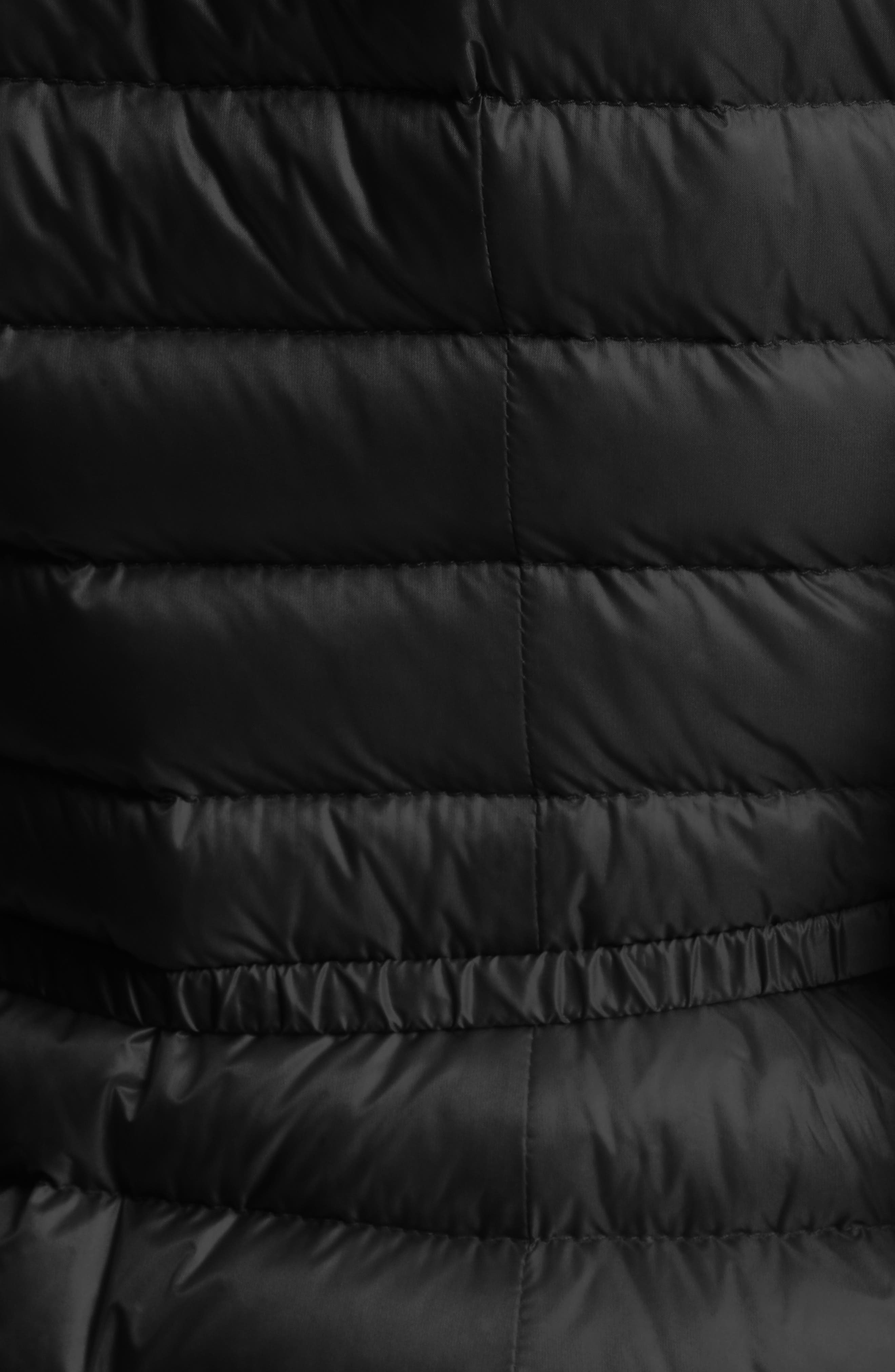 Alternate Image 6  - Moncler Barbel Water Resistant Long Hooded Down Jacket