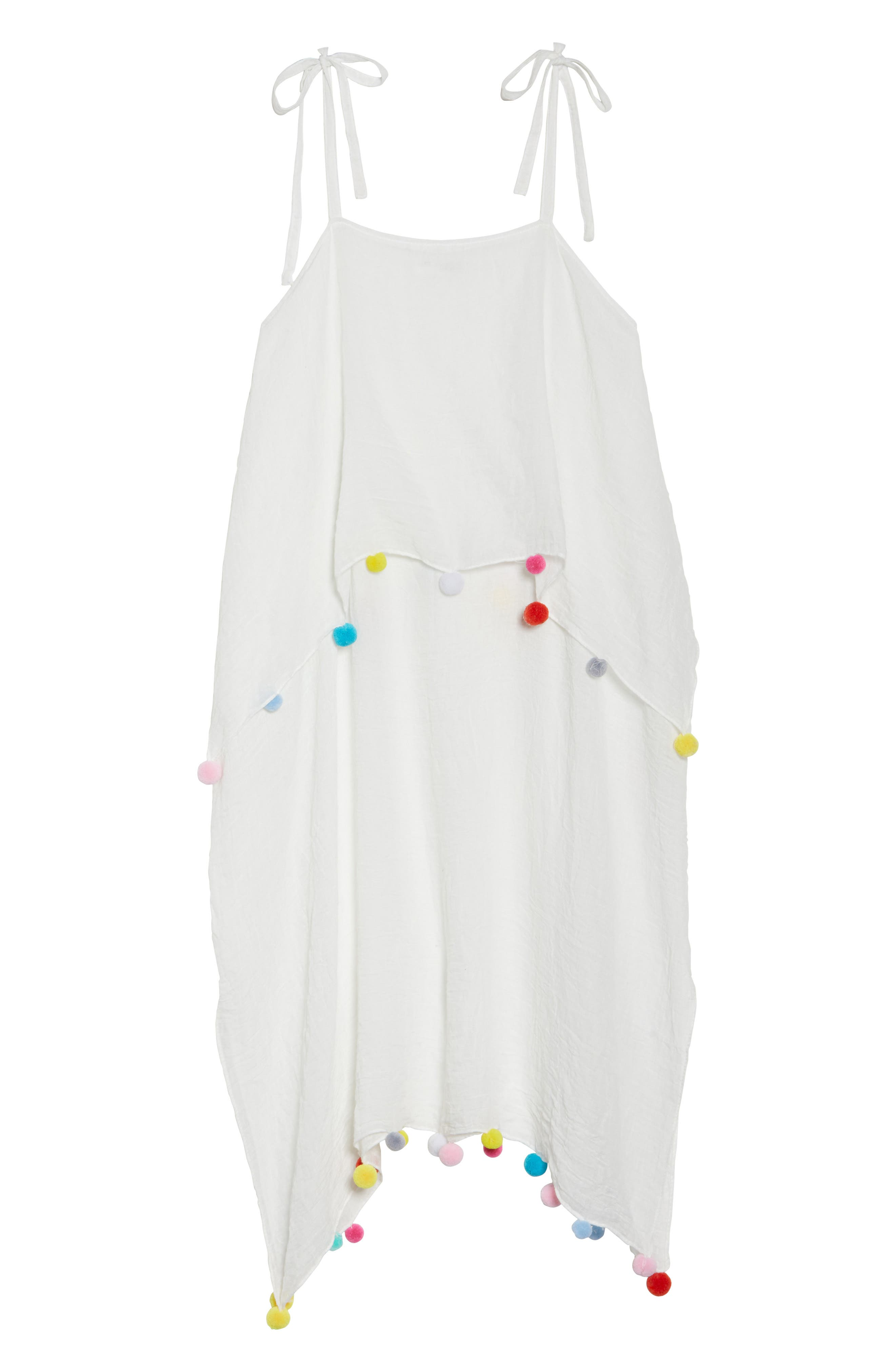Day to Night Cover-Up Dress,                             Alternate thumbnail 6, color,                             White