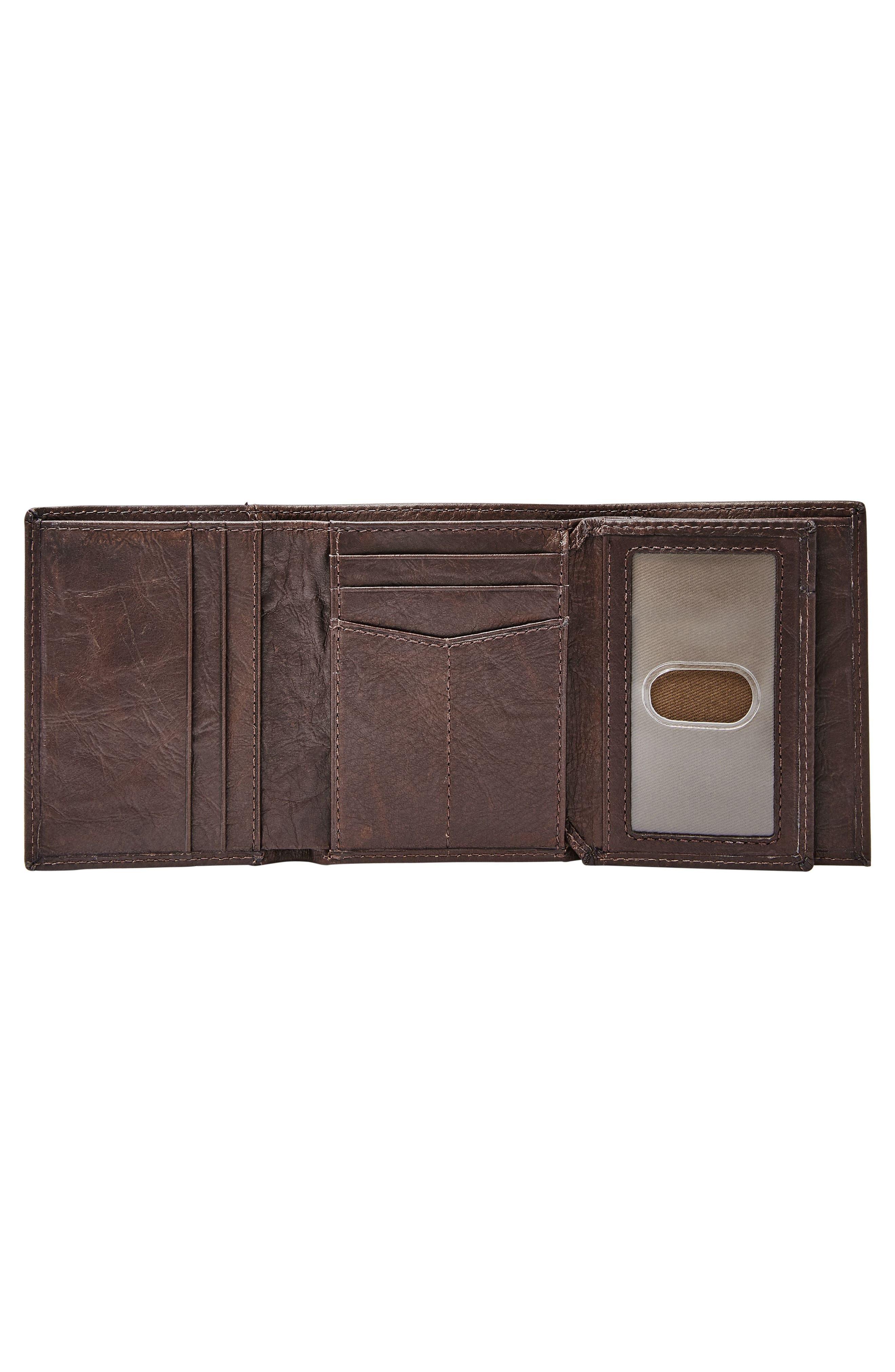 Alternate Image 4  - Fossil Neel Leather Wallet