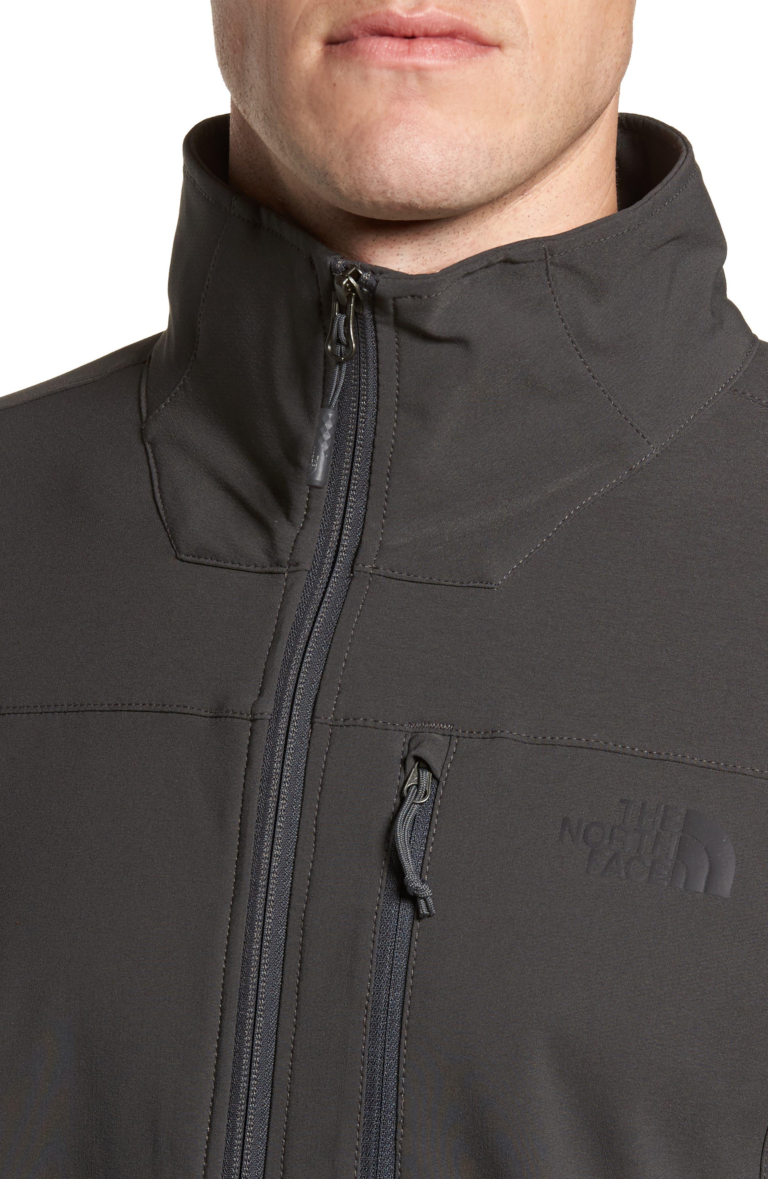 Apex Nimble Jacket,                             Alternate thumbnail 4, color,                             Asphalt Grey/ Asphalt Grey