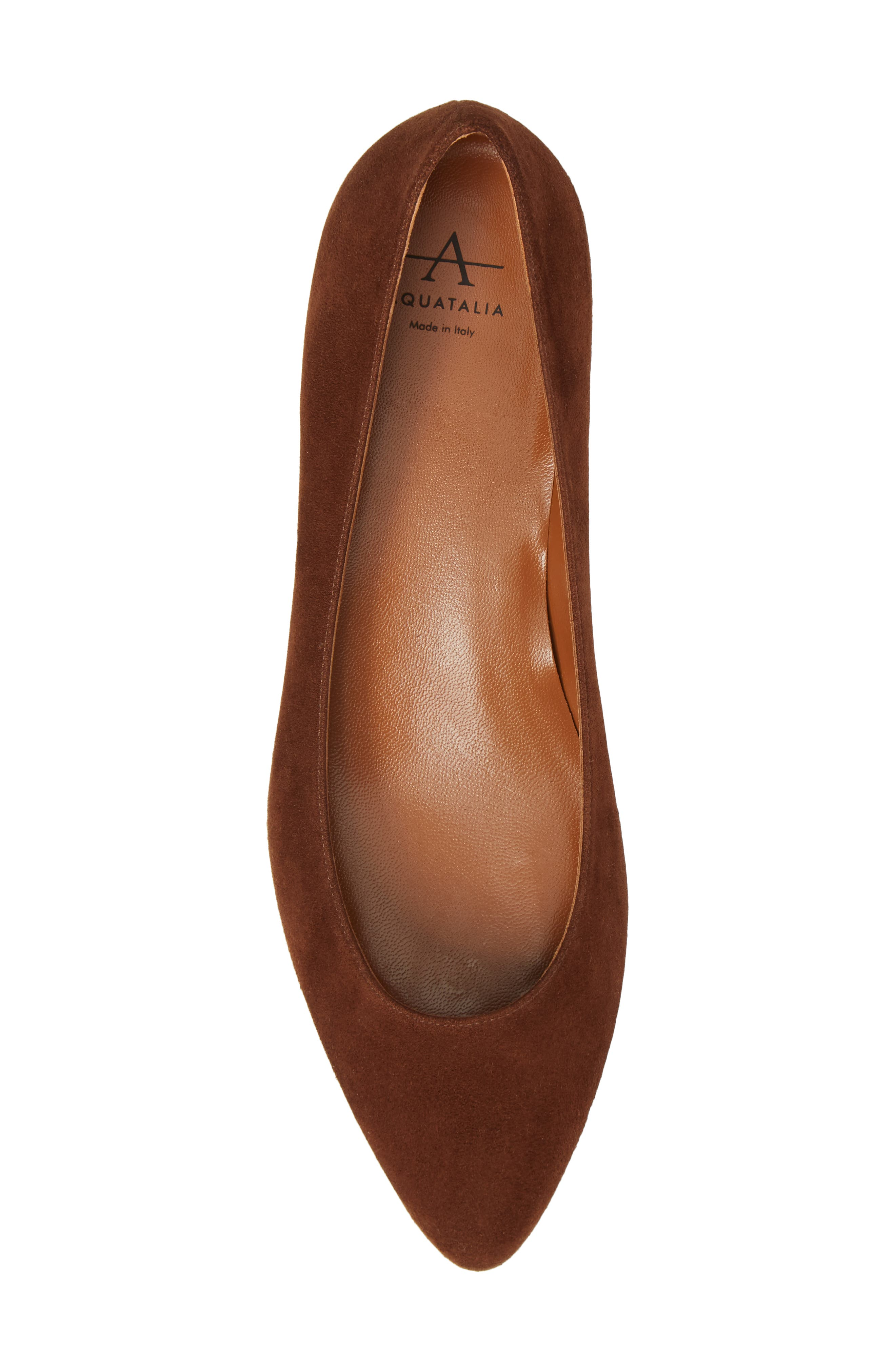 Alternate Image 5  - Aquatalia Perla Weatherproof Ballerina Shoe (Women)