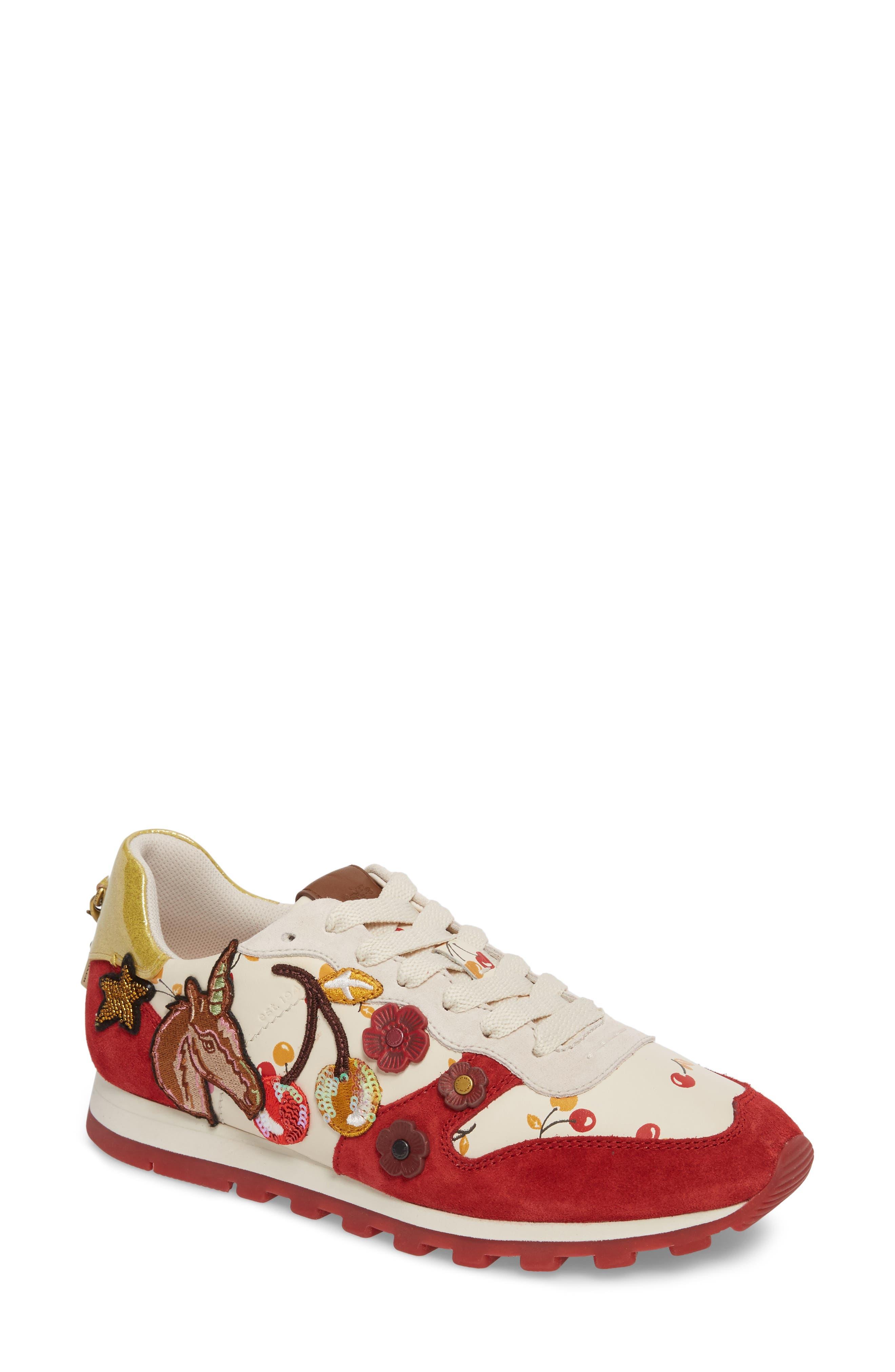 COACH Patch Runner Sneaker (Women)