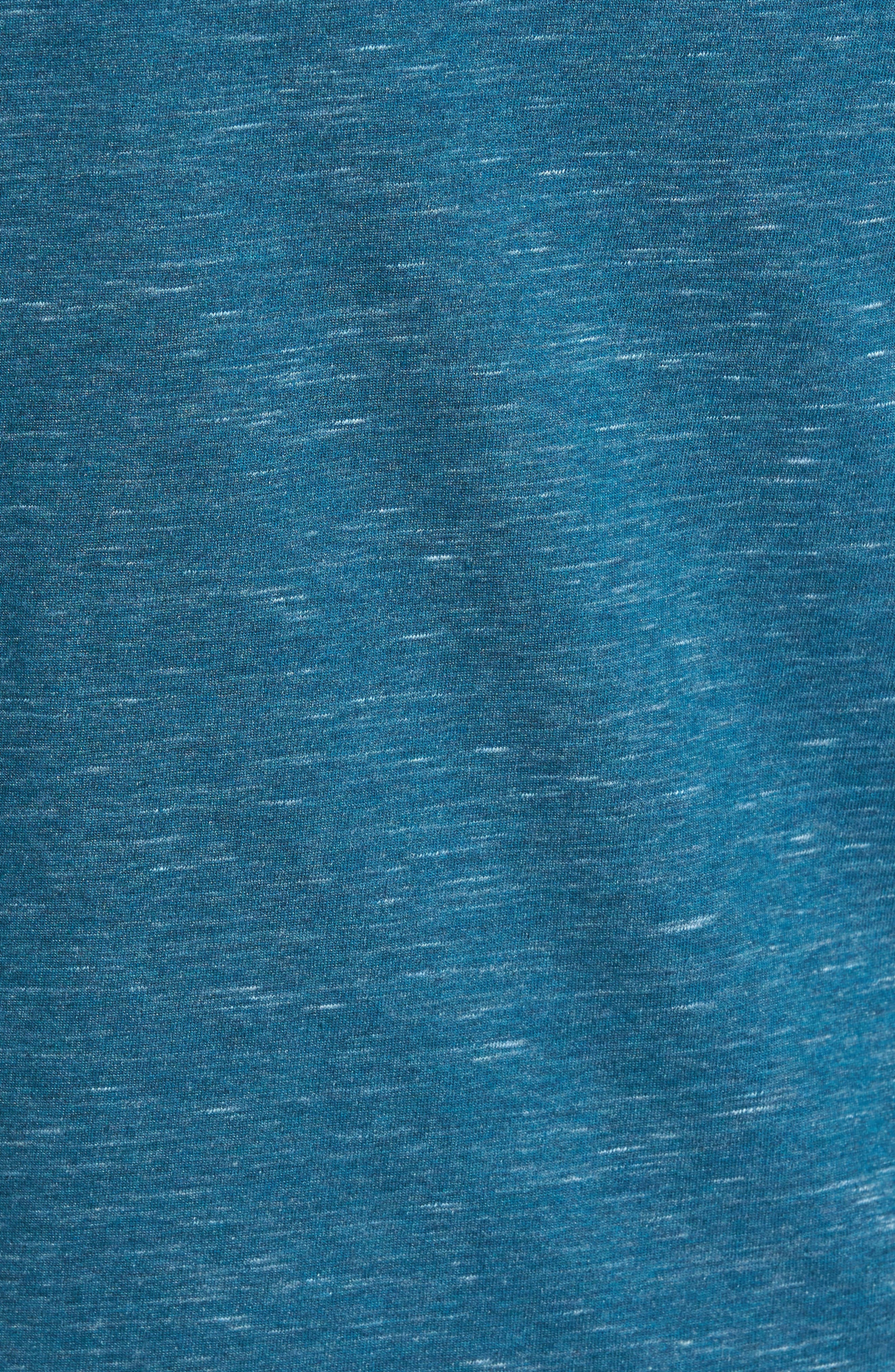 San Clemente Dri-FIT Henley,                             Alternate thumbnail 5, color,                             Space Blue
