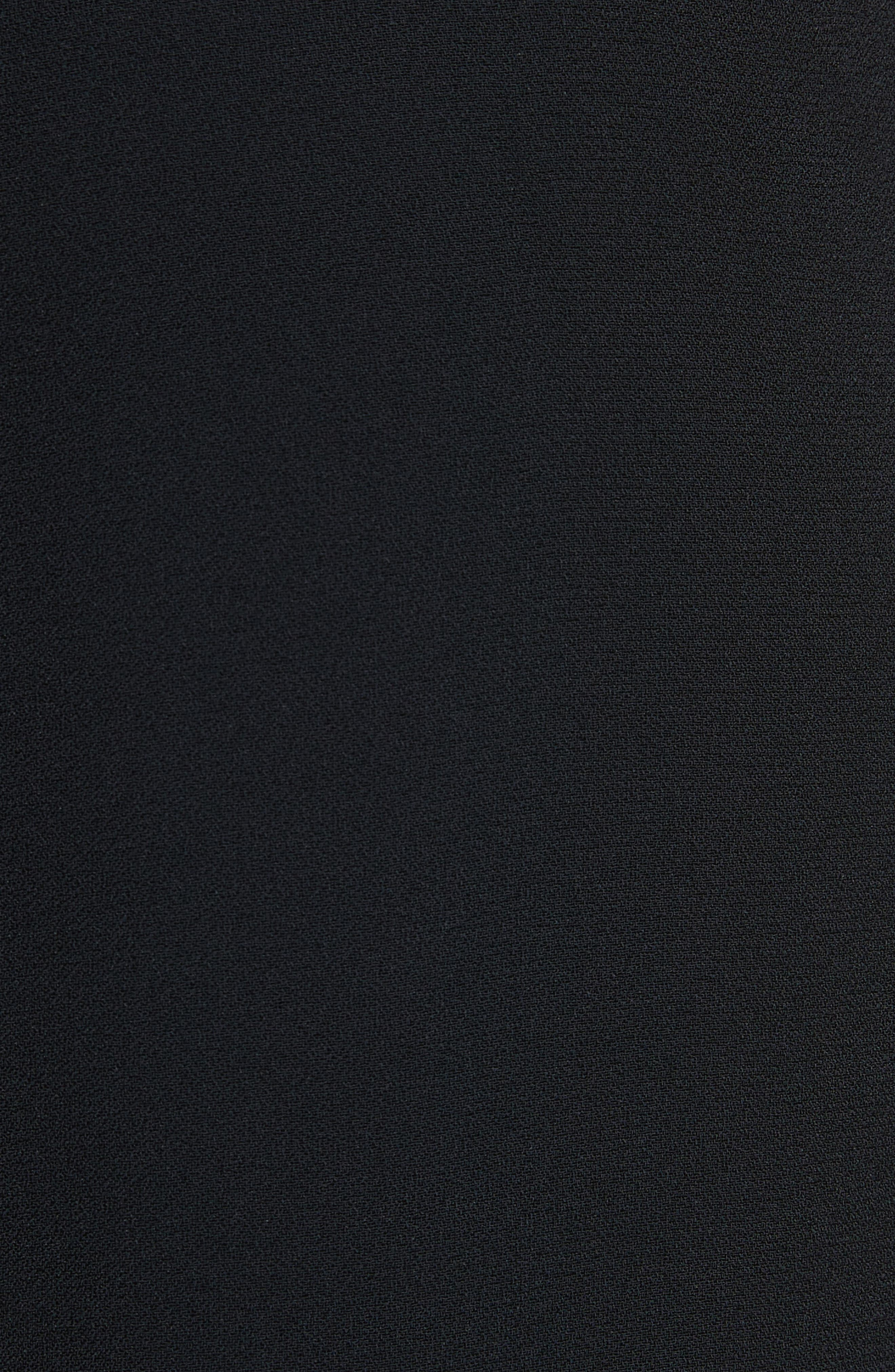 Belted Culottes,                             Alternate thumbnail 5, color,                             Black