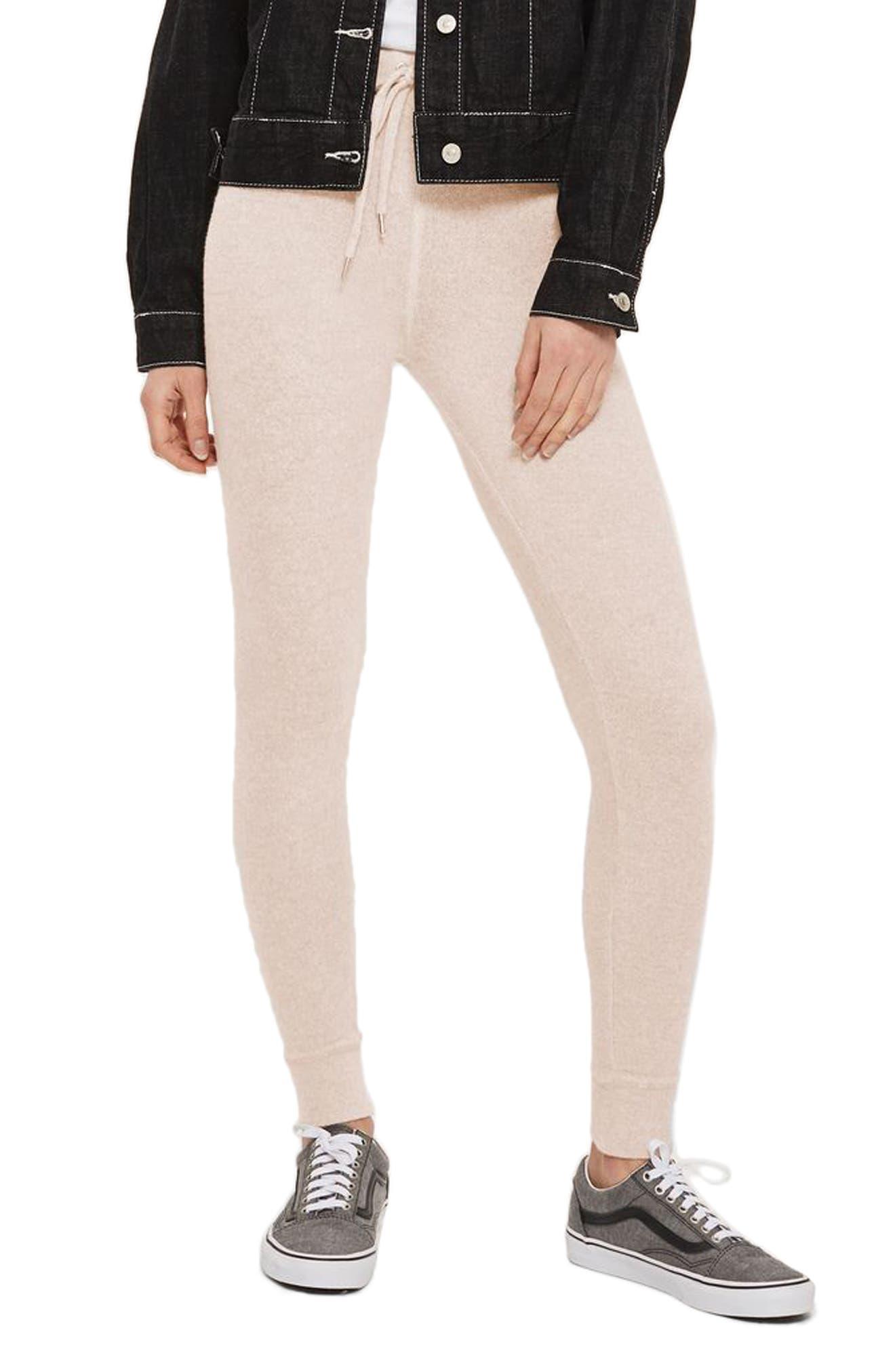 Skinny Jogger Pants,                         Main,                         color, Light Pink