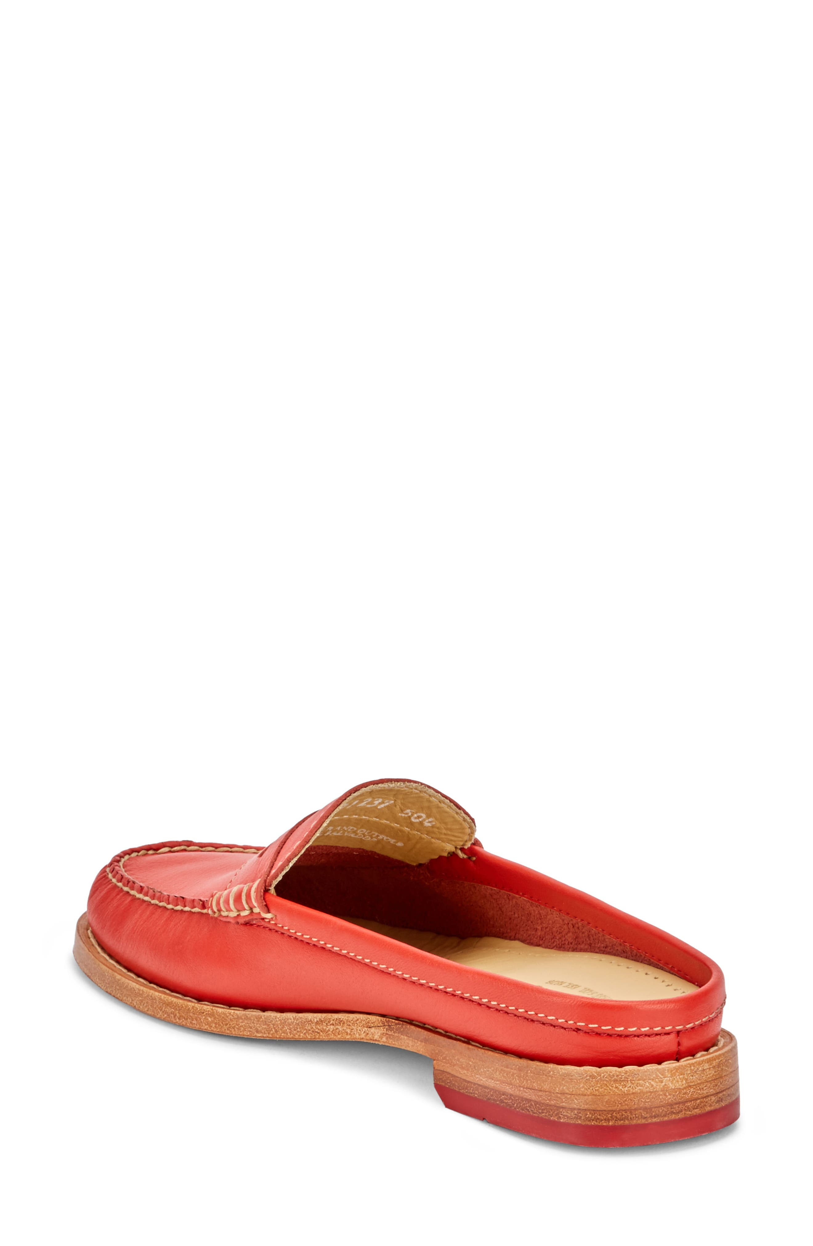 Wynn Loafer Mule,                             Alternate thumbnail 2, color,                             Roma Red Leather