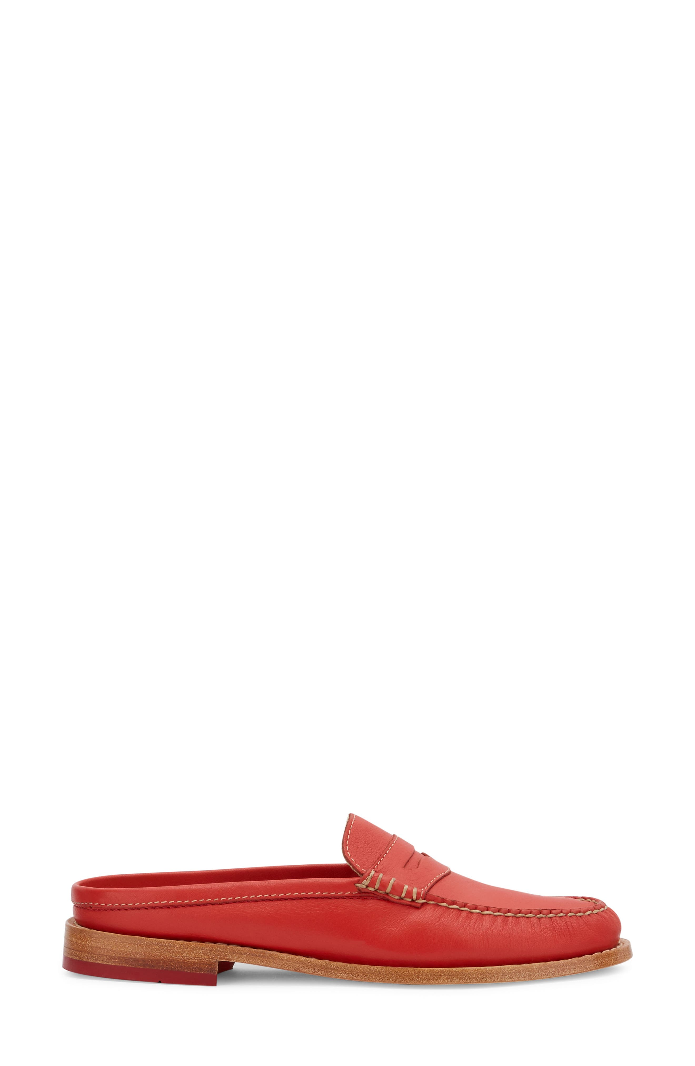Wynn Loafer Mule,                             Alternate thumbnail 3, color,                             Roma Red Leather