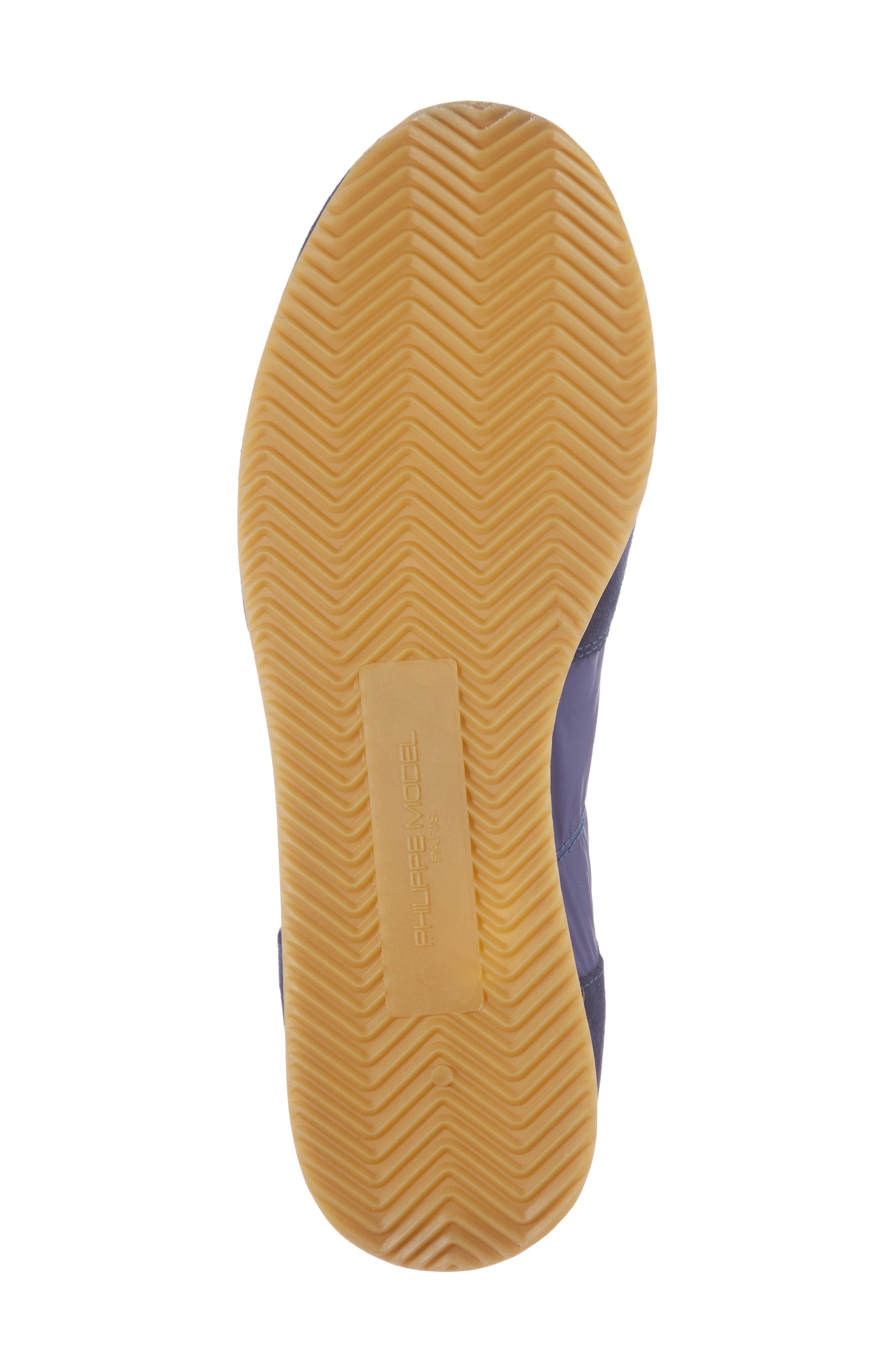 Tropez Low Top Sneaker,                             Alternate thumbnail 6, color,                             Blue/ Citron