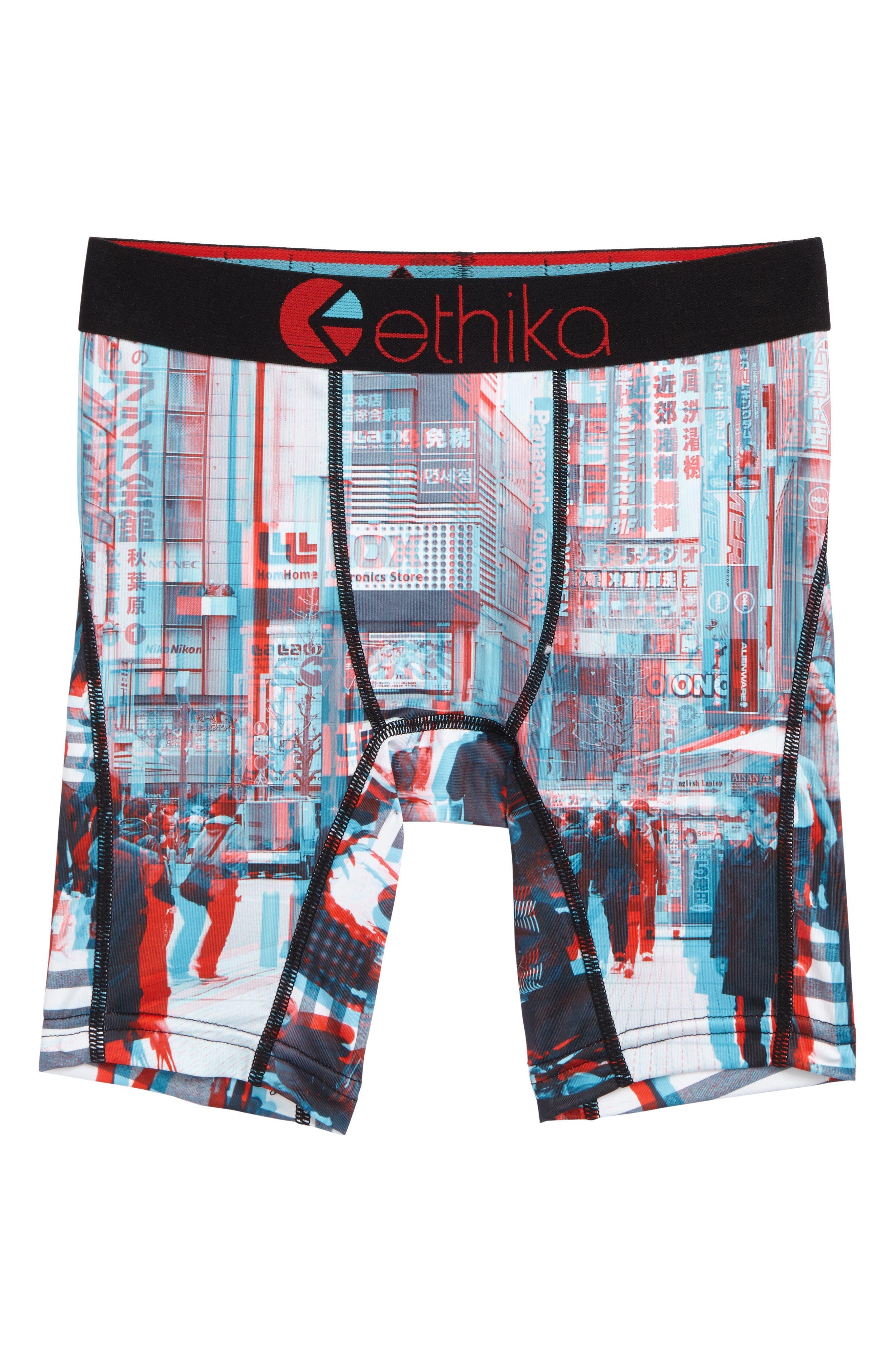 Ethika Toke Yo 3D Boxer Briefs (Little Boys & Big Boys)