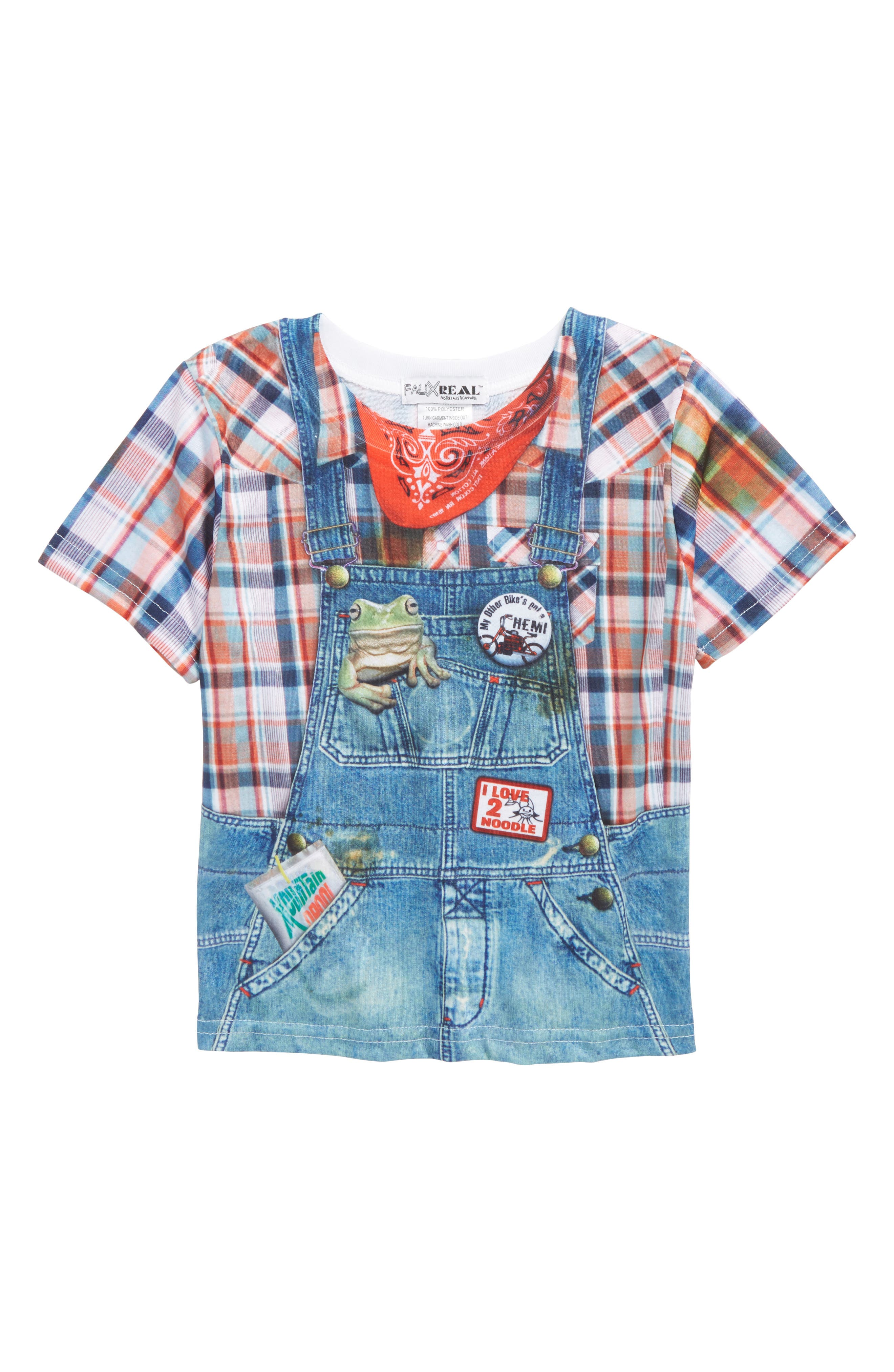 Alternate Image 1 Selected - Faux Real Country Kid T-Shirt (Toddler Boys)