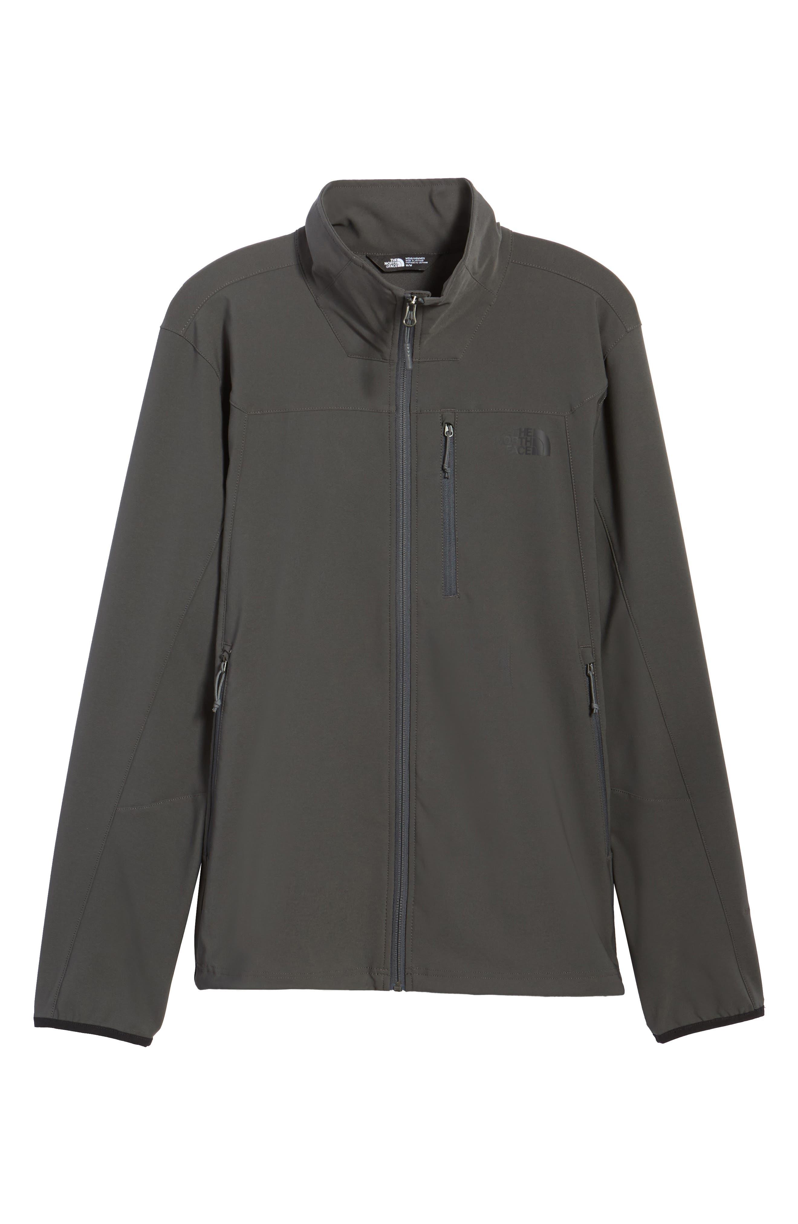 Apex Nimble Jacket,                             Alternate thumbnail 6, color,                             Asphalt Grey/ Asphalt Grey