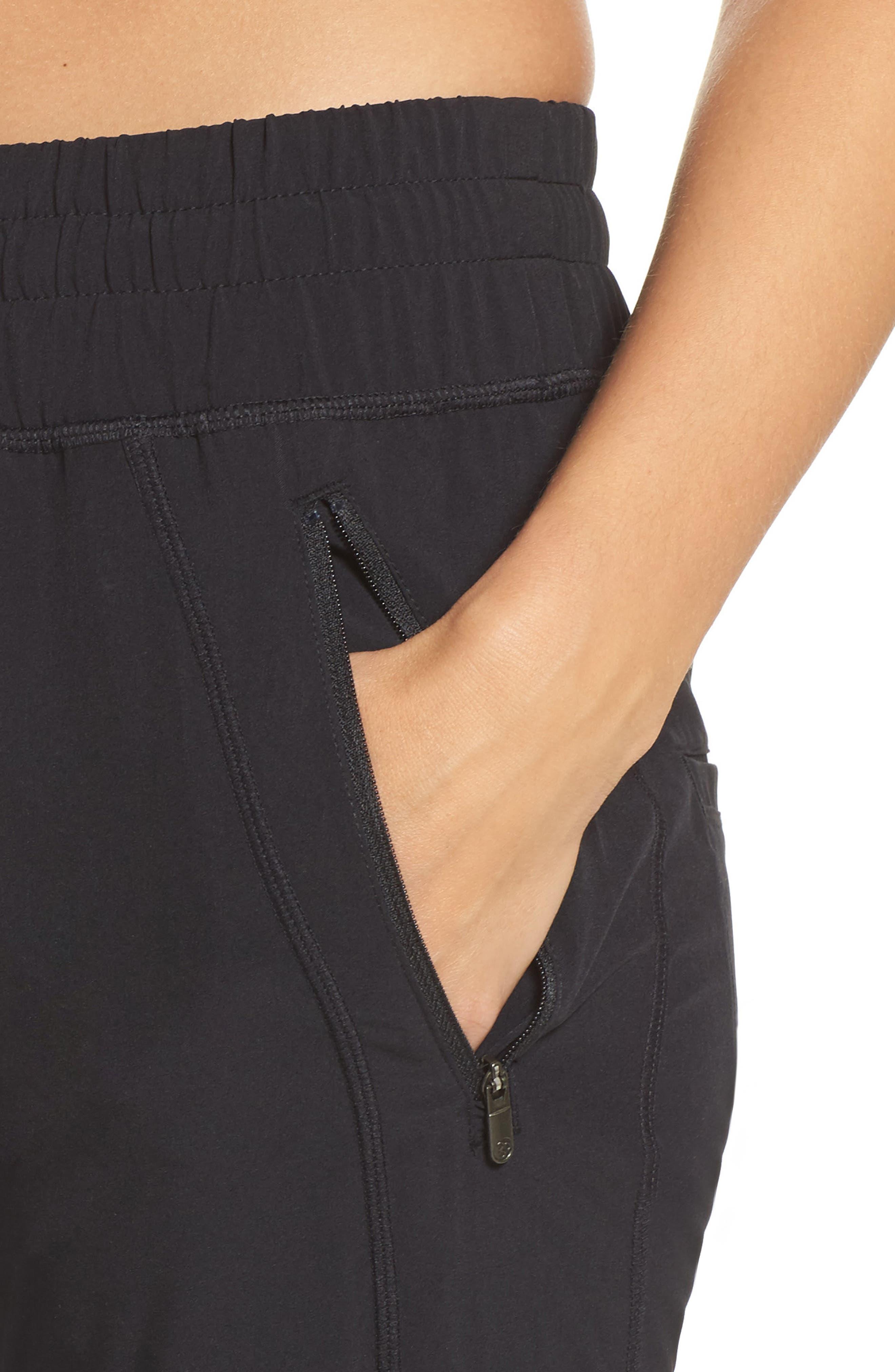 Alternate Image 4  - Zella Out & About 2 Crop Pants