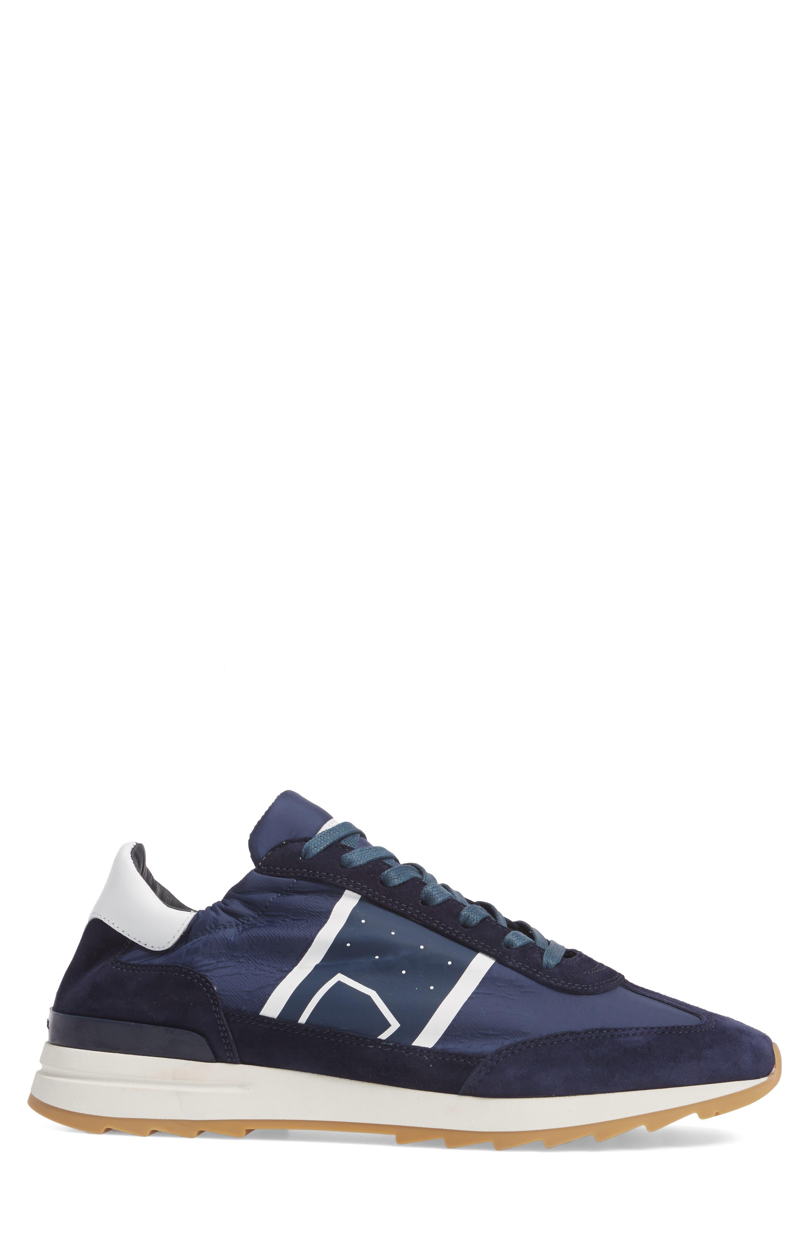 Toujours Sneaker,                             Alternate thumbnail 3, color,                             Blue/ Blue