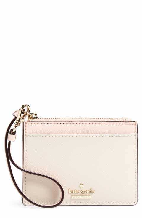Kate spade new york green nordstrom kate spade new york cameron street mellody leather card case negle Images