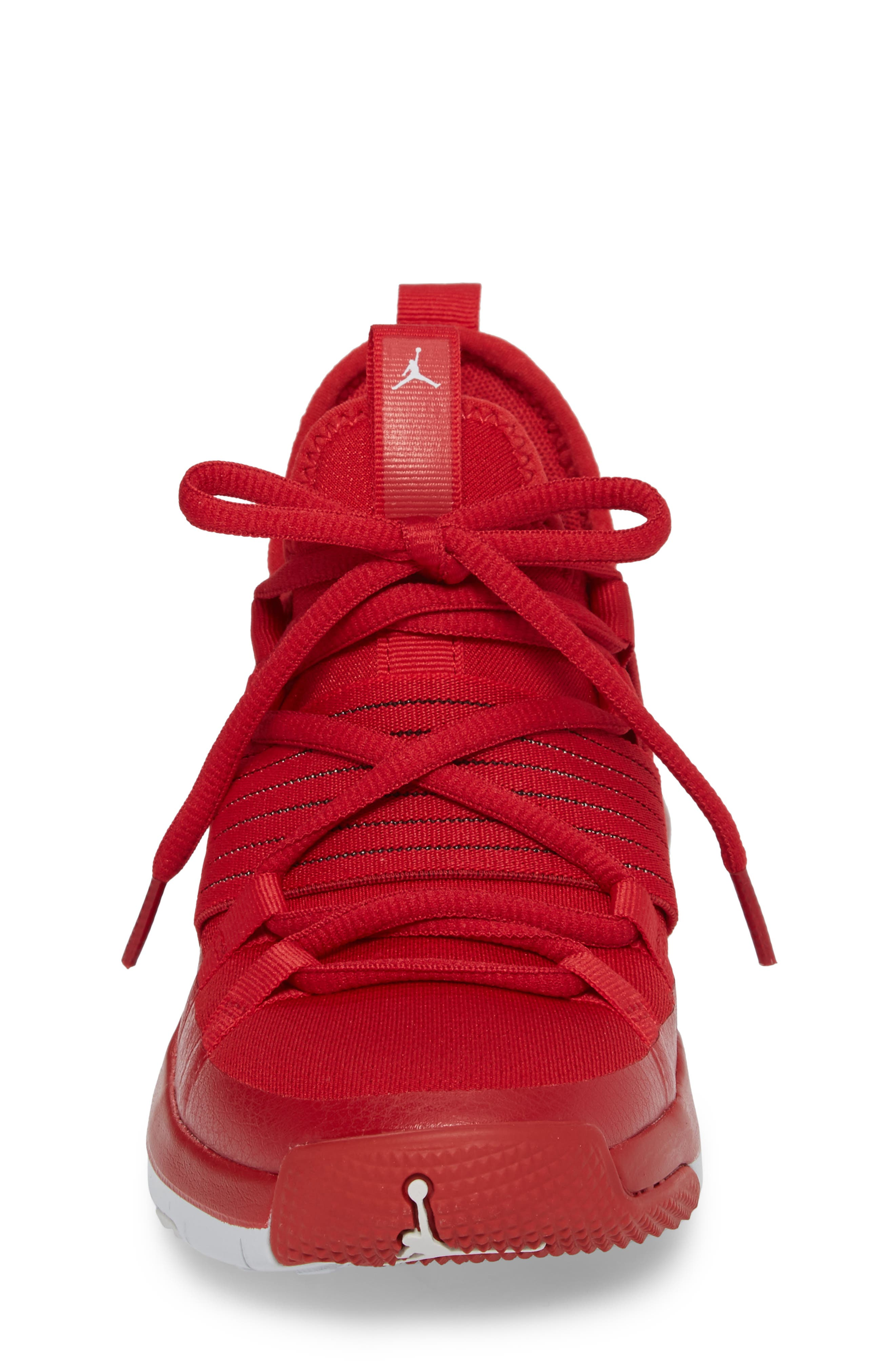 Trainer Pro Training Shoe,                             Alternate thumbnail 4, color,                             Gym Red/ Pure Platinum