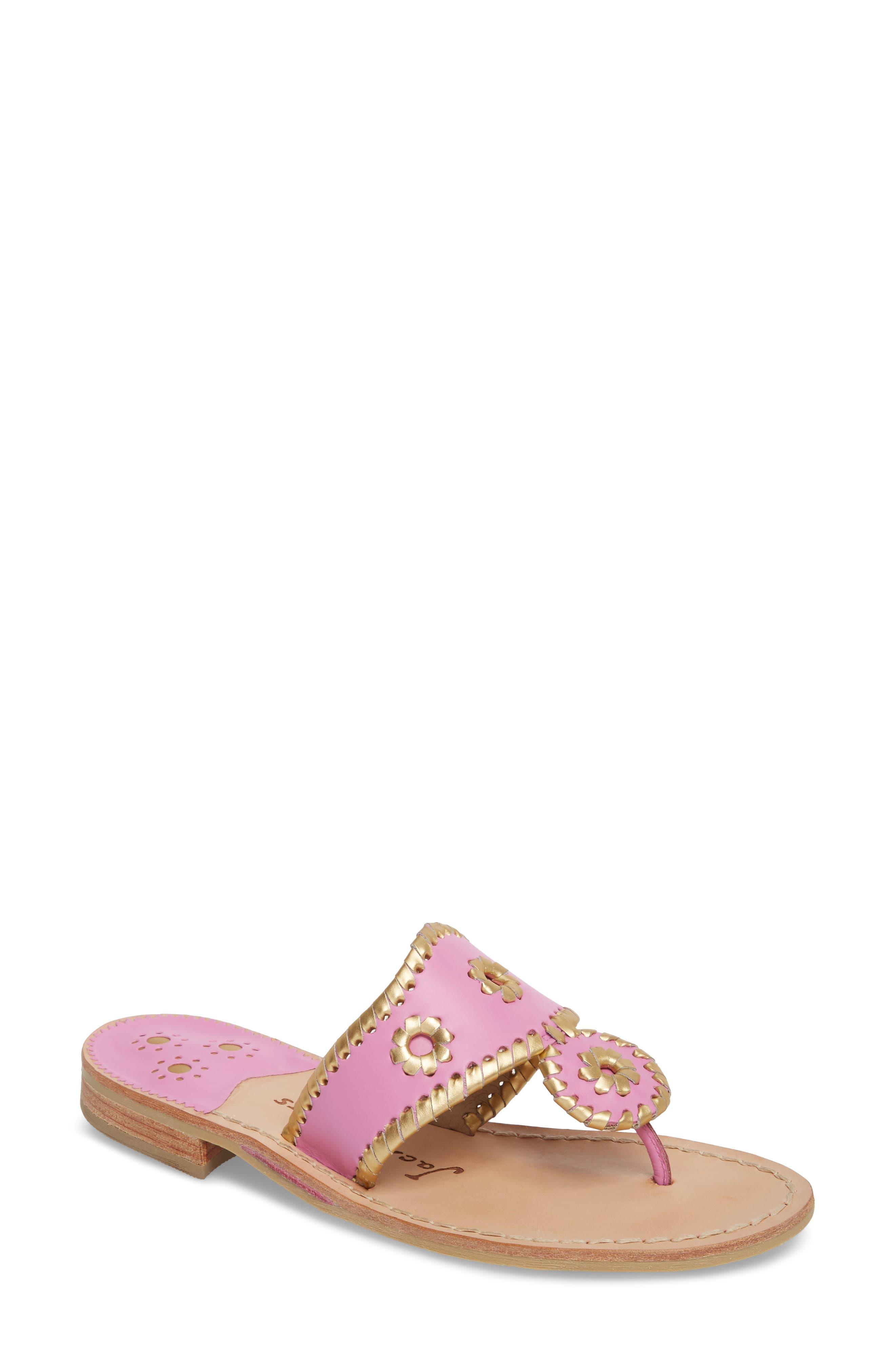 Alternate Image 1 Selected - Jack Rogers Hollis Flat Sandal (Women)