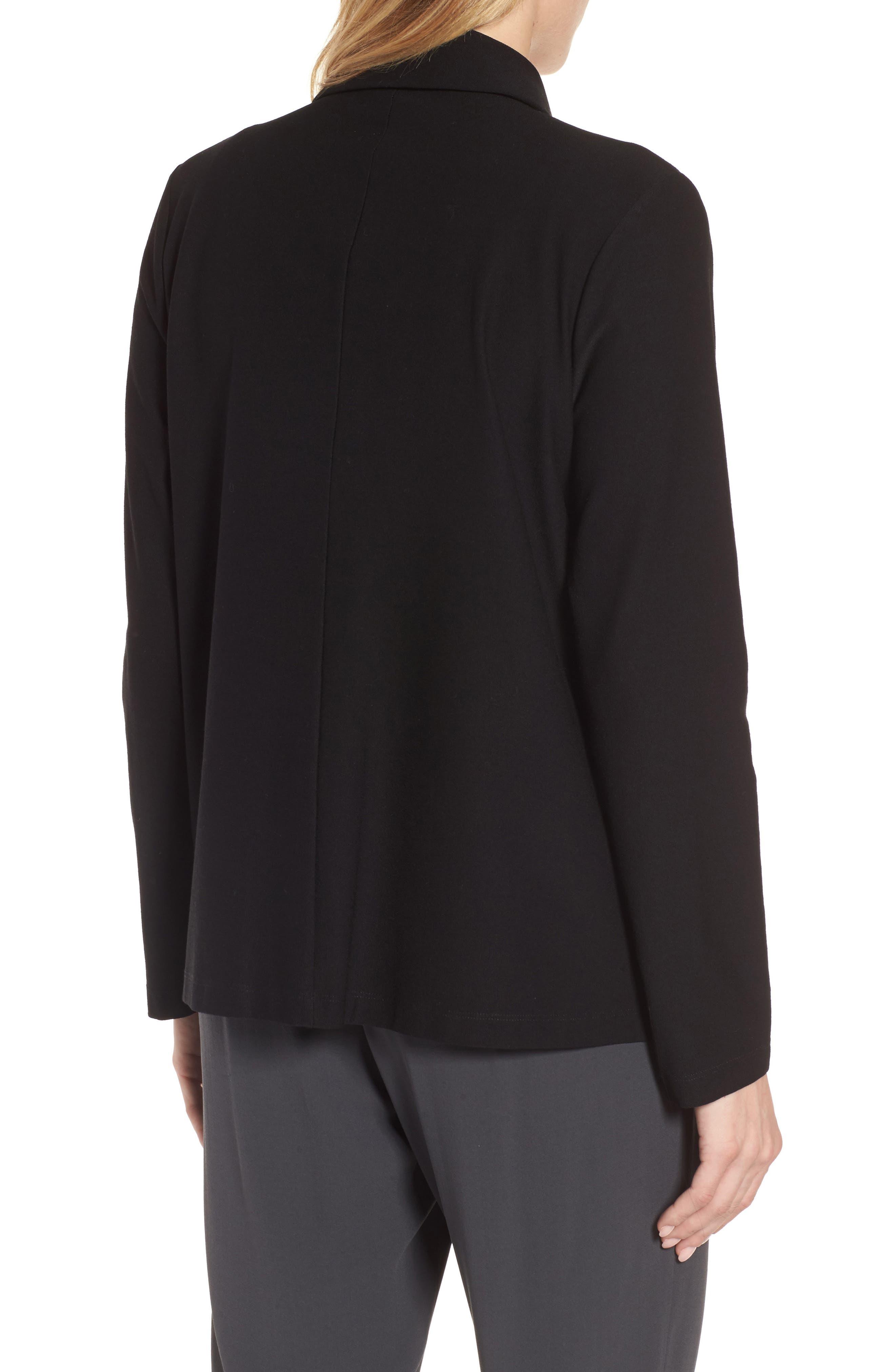 Alternate Image 2  - Eileen Fisher Notch Collar Boxy Jacket