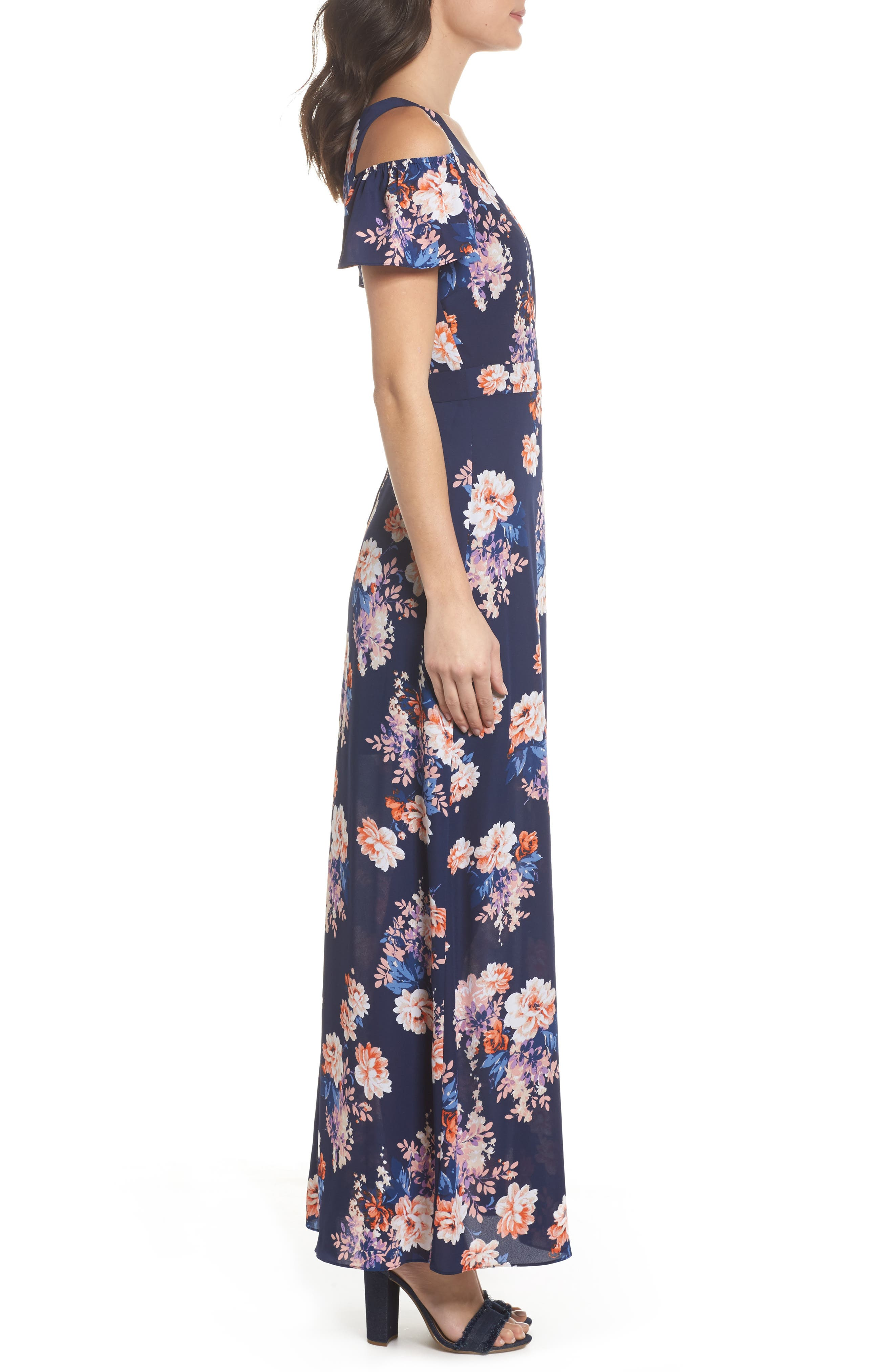 Alternate Image 4  - Ali & Jay Chasing Butterflies Maxi Dress (Nordstrom Exclusive)