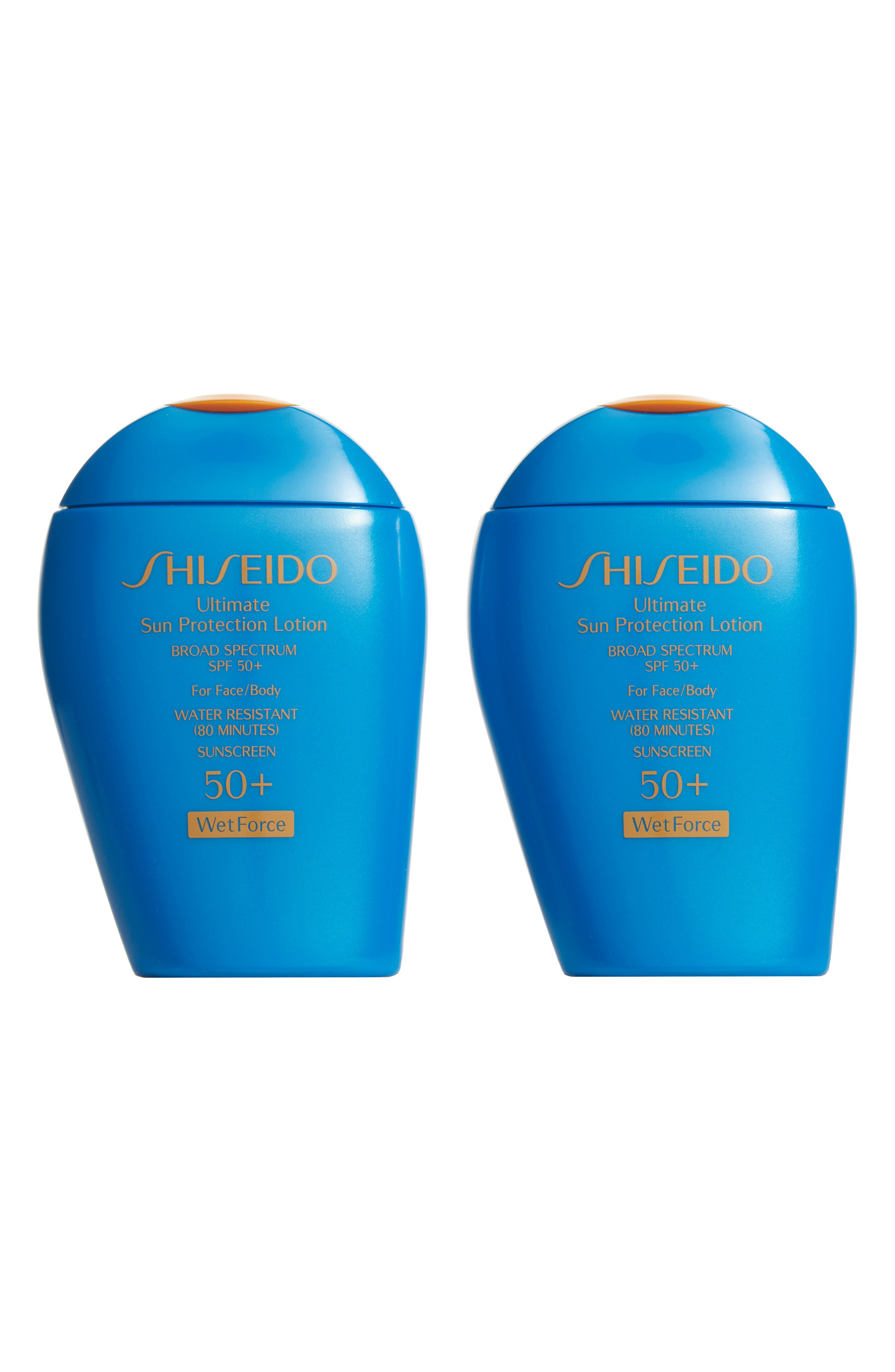 Shiseido Ultimate Sun Protection Lotion SPF 50+ Duo ($80 Value)