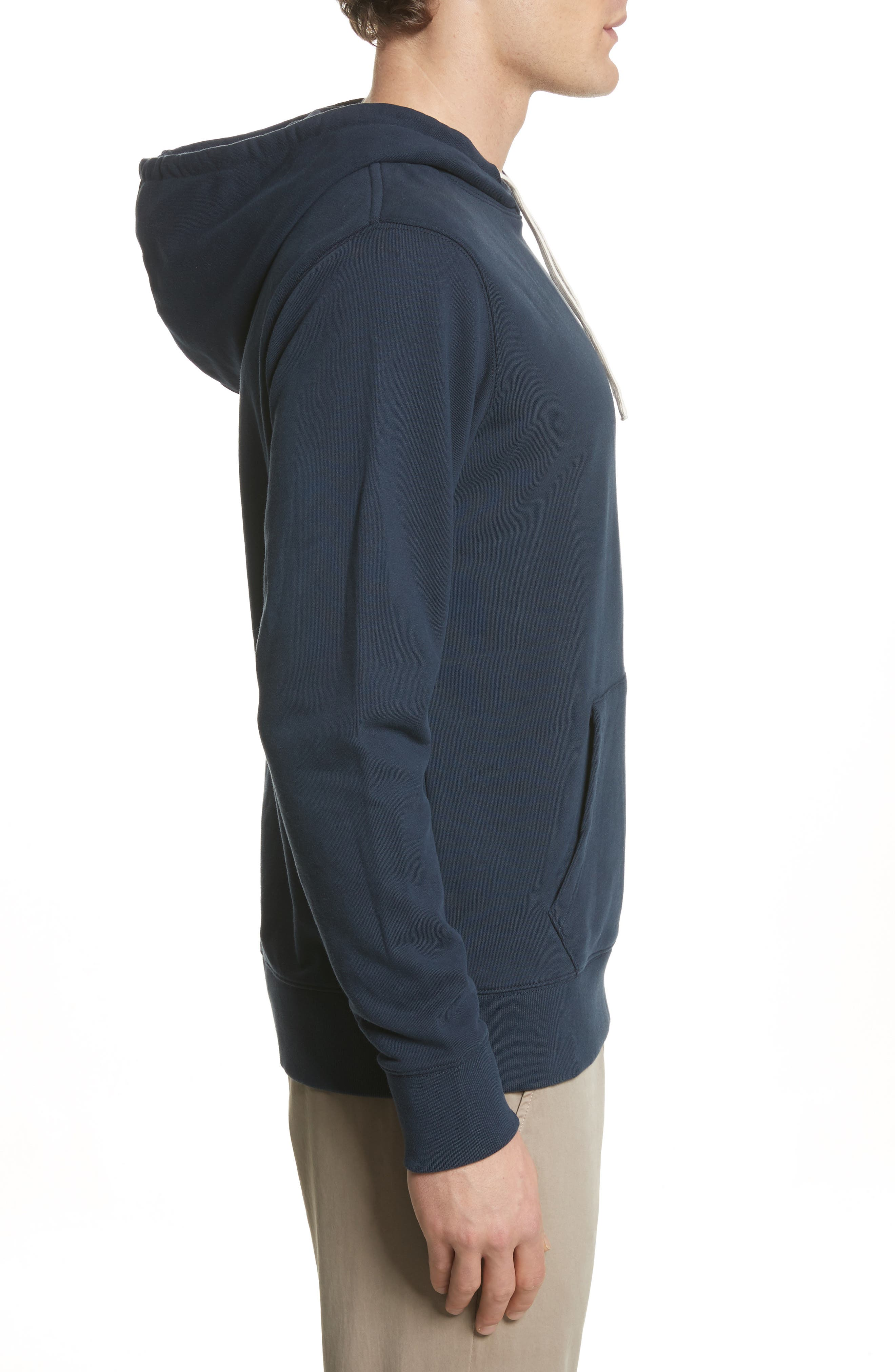 Ditch Miller Hoodie,                             Alternate thumbnail 3, color,                             Midnight
