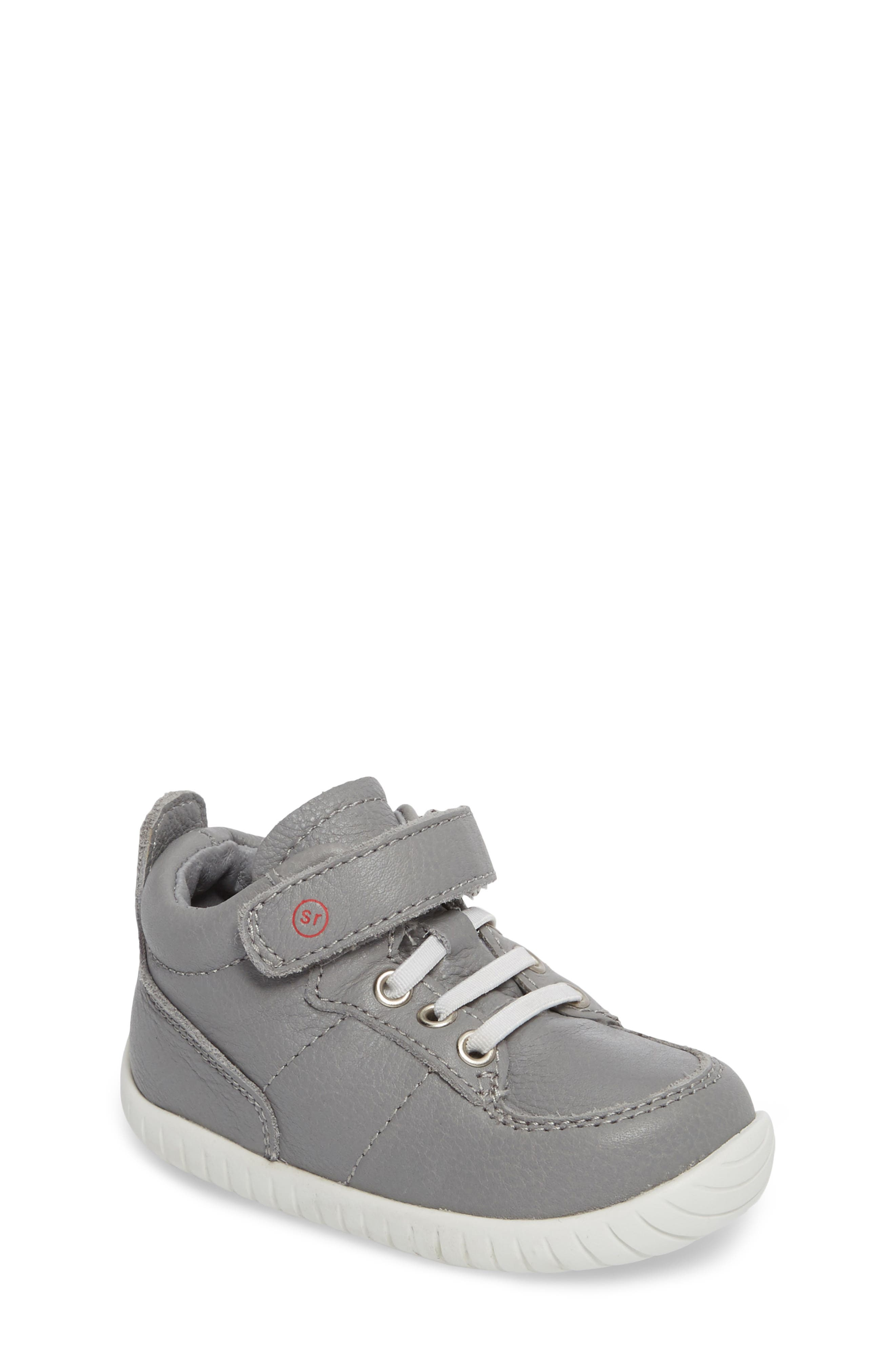 Stride Rite Bailey High Top Sneaker (Baby & Walker)