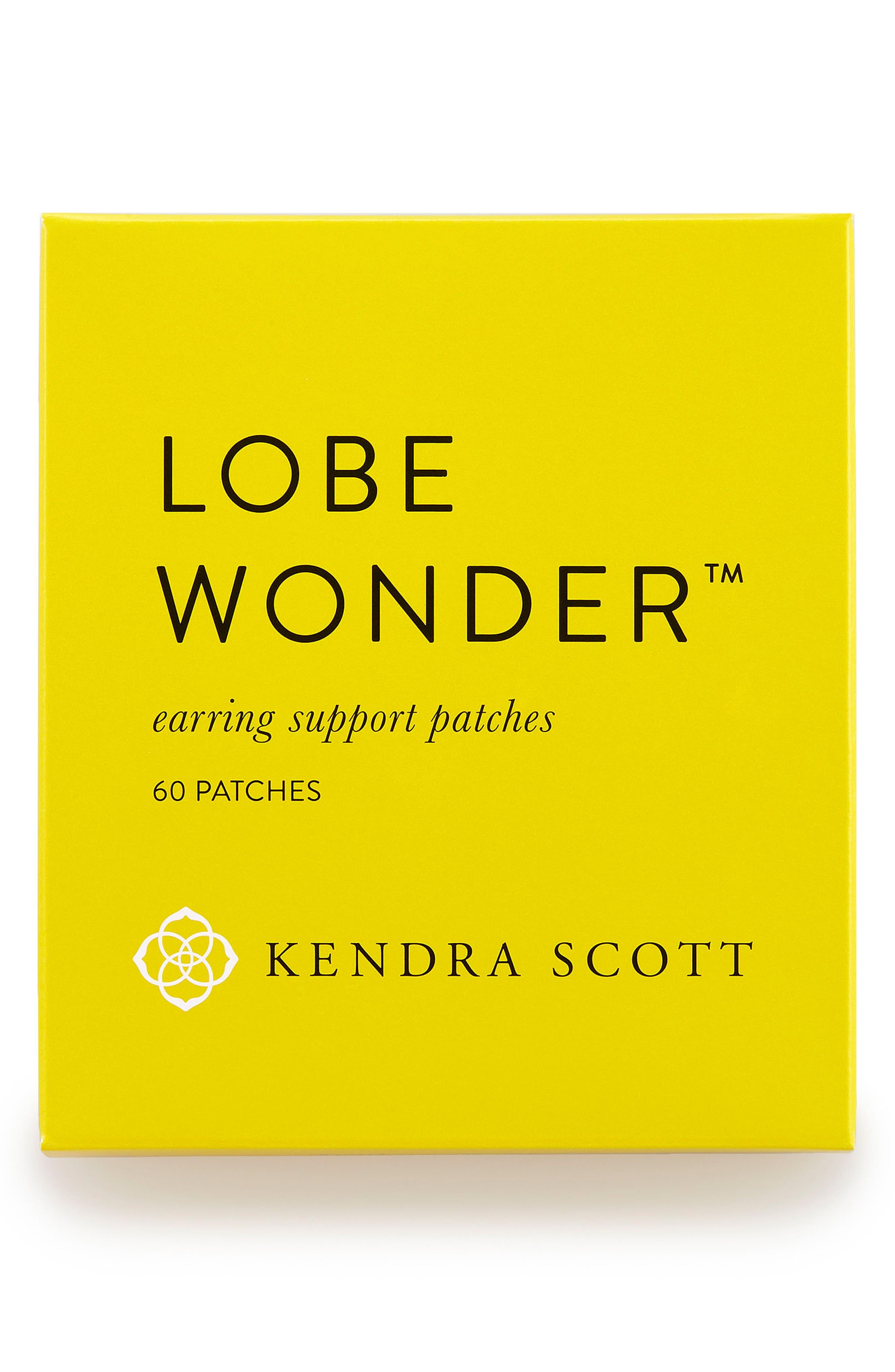 'Lobe Wonder<sup>™</sup>' Earring Support Patches,                             Main thumbnail 1, color,                             Lobe Wonder- Clear
