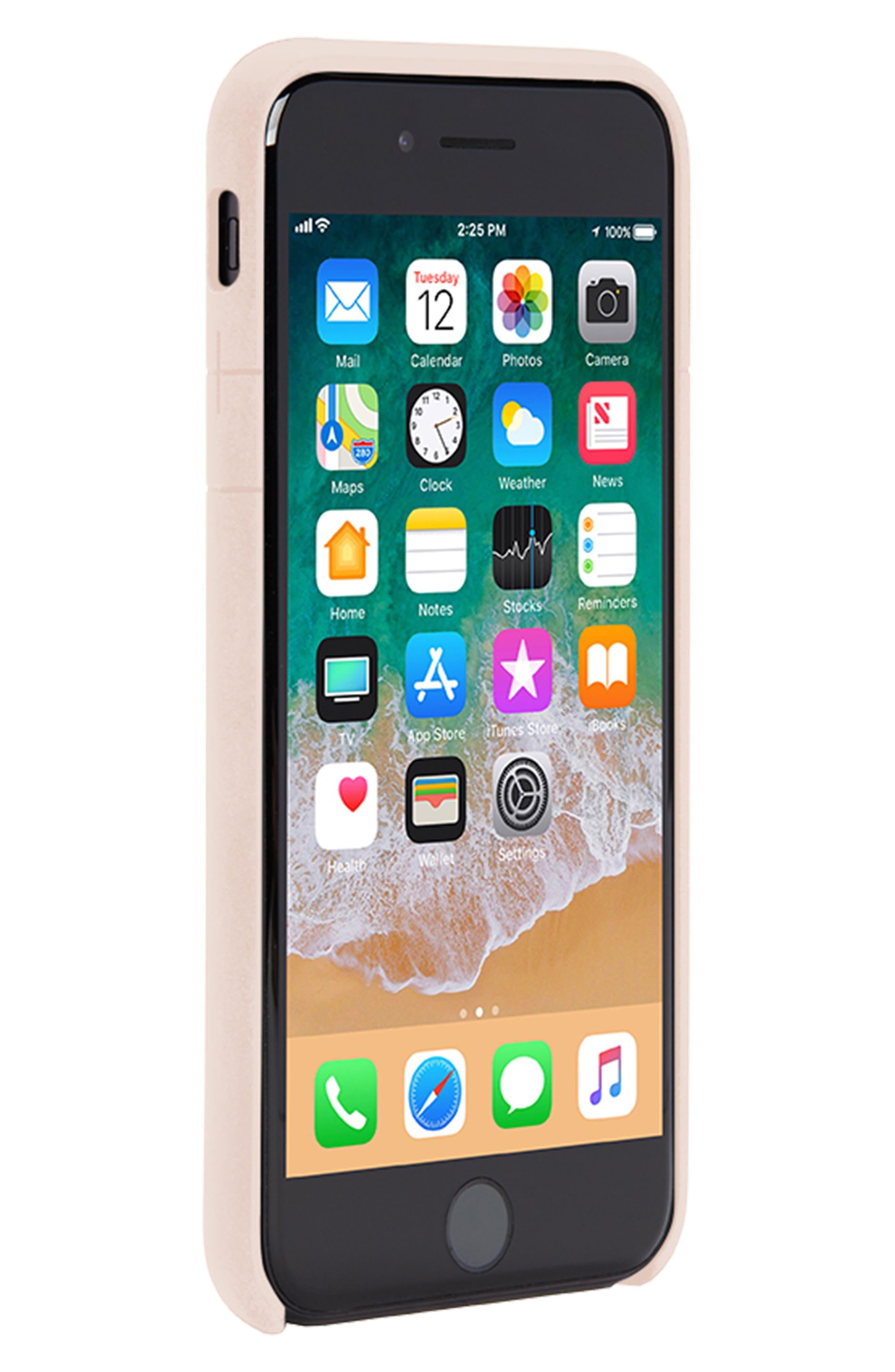 Facet iPhone 7/8 Case,                             Alternate thumbnail 4, color,                             Rose Gold