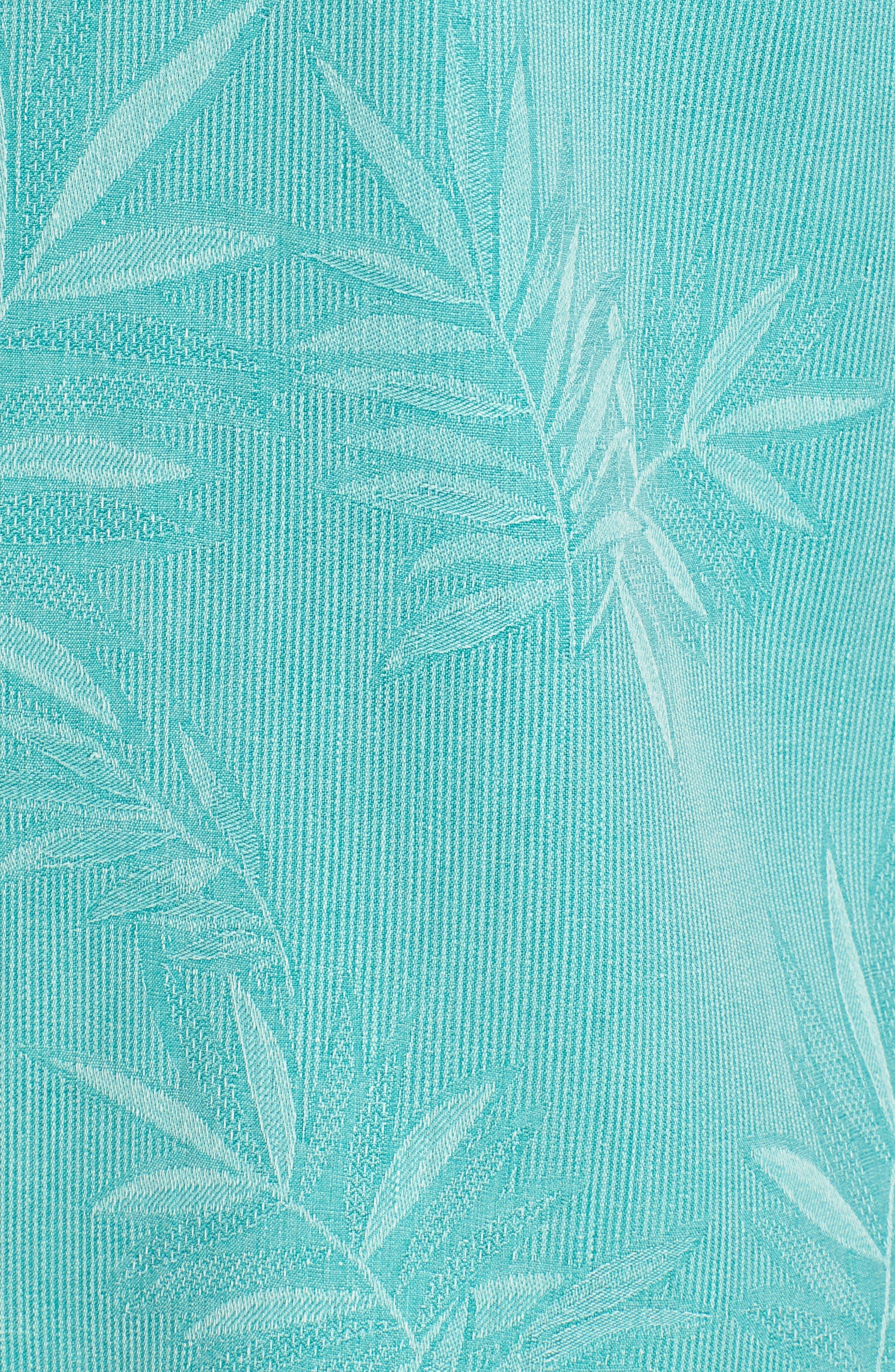 Alternate Image 5  - Tommy Bahama Luau Floral Silk Shirt