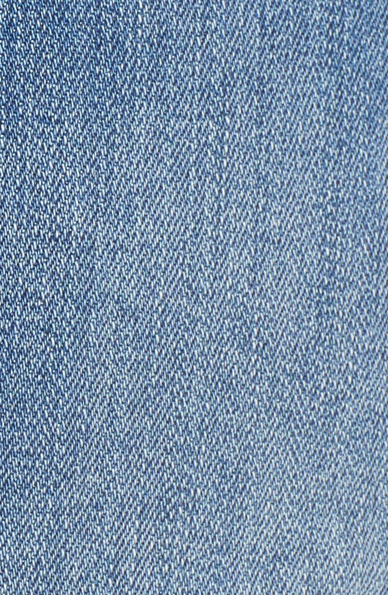 Alternate Image 5  - STS Blue Rosebowl Shadow Pocket Denim Shorts (Holby)