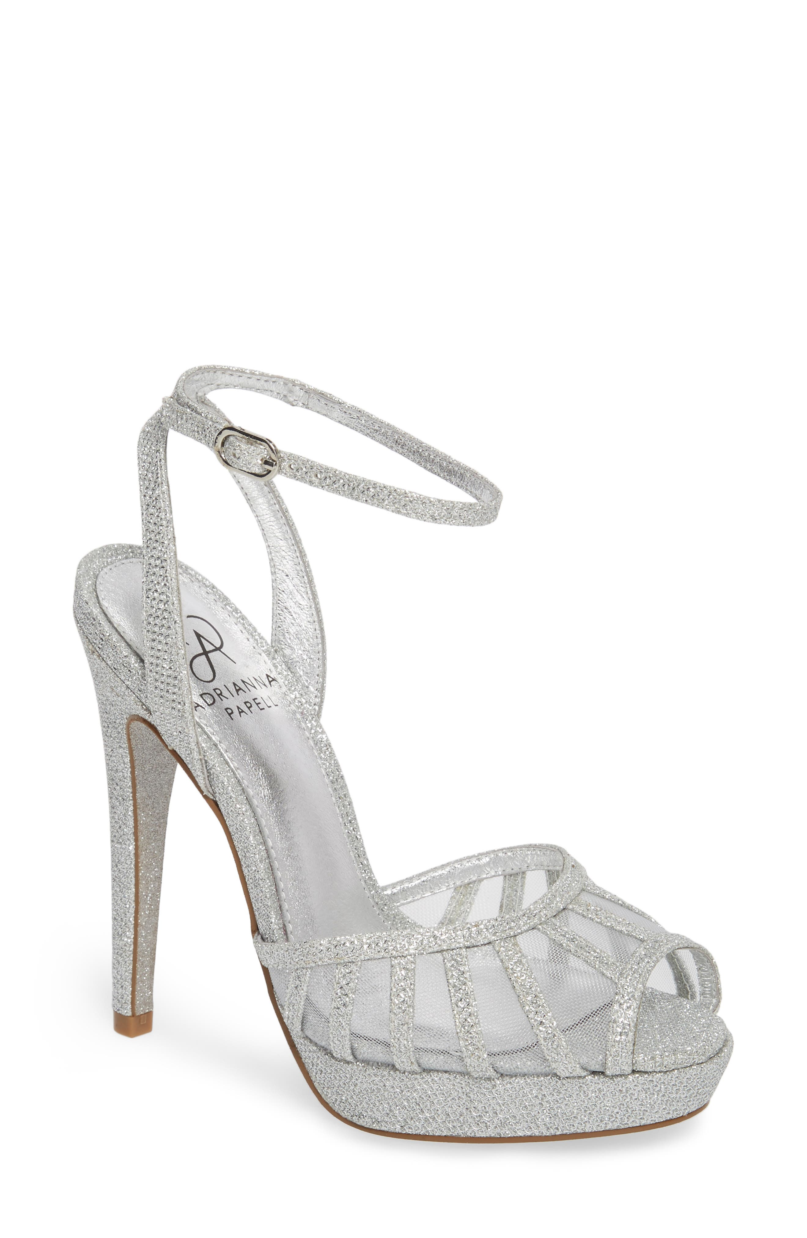 Alternate Image 1 Selected - Adrianna Papell Saida Platform Sandal (Women)